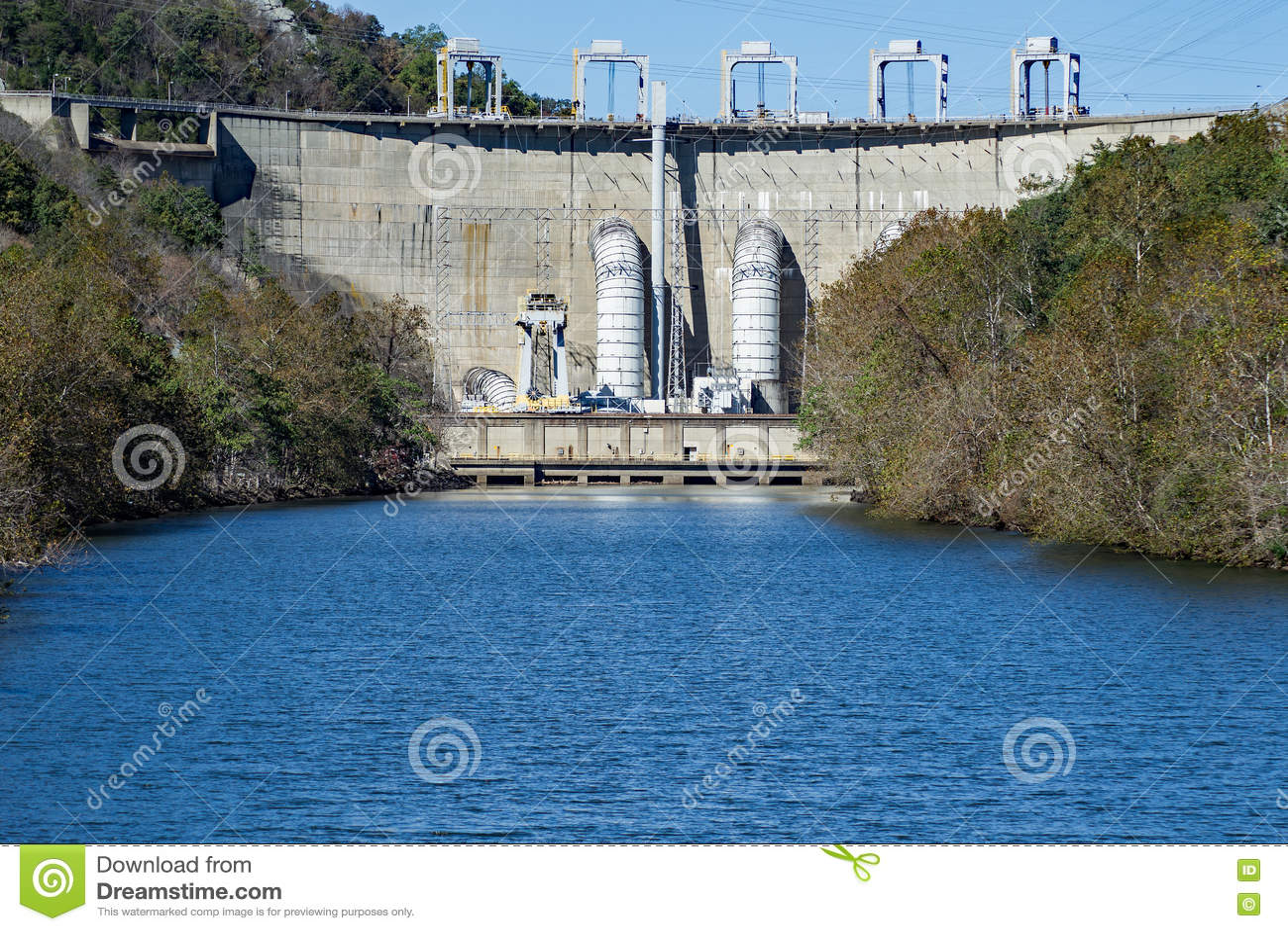 Smith Mountain Dam, Penhook, VA, los E.E.U.U.