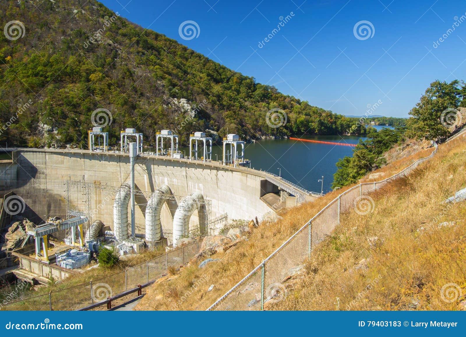 Smith Mountain Dam, Penhook, VA, USA