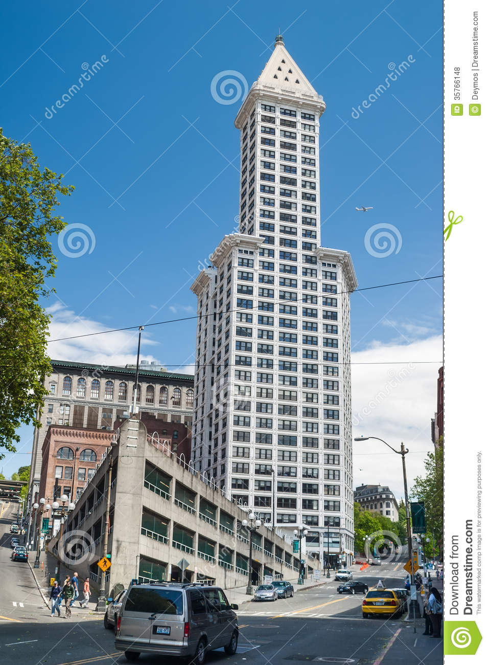 Smith tower building in seattle wa editorial stock photo for Seattle builders