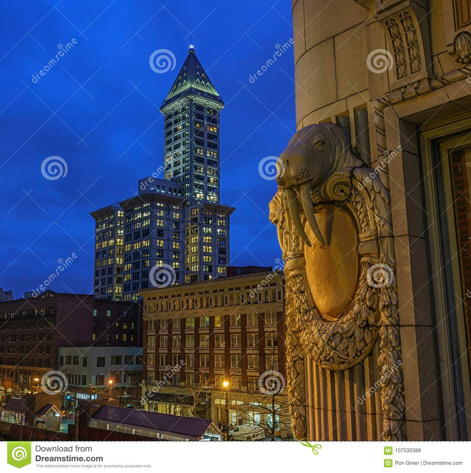Smith Tower, Seattle, Wa Etats-Unis