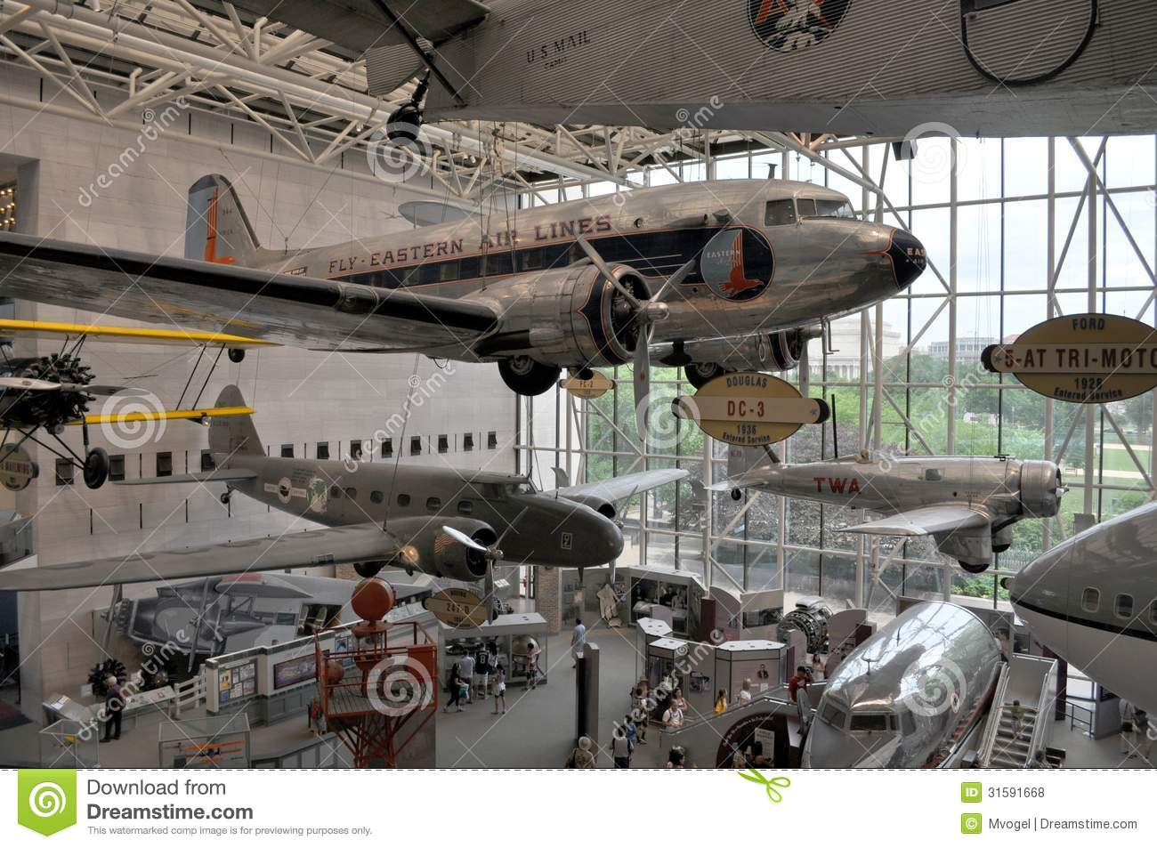 Museo Smithsonian.Smithsonian Air And Space Museum Editorial Stock Photo Image Of