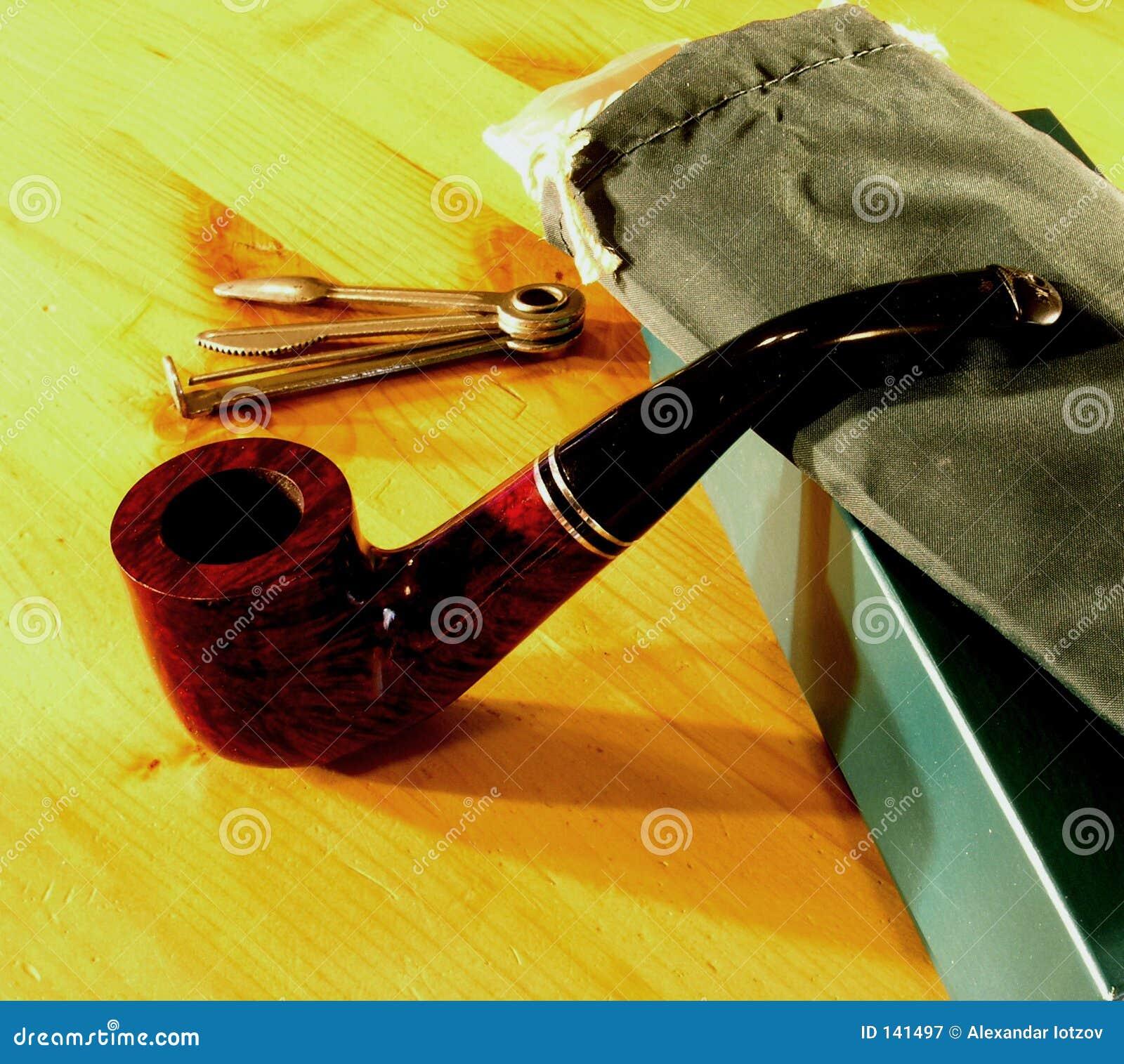 Smocking pipe set 1 stock image  Image of smoking, tool - 141497