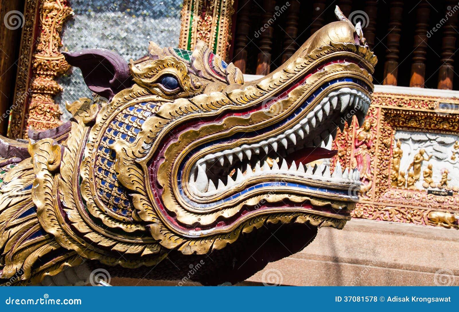 Download Smok przed świątynią zdjęcie stock. Obraz złożonej z przód - 37081578