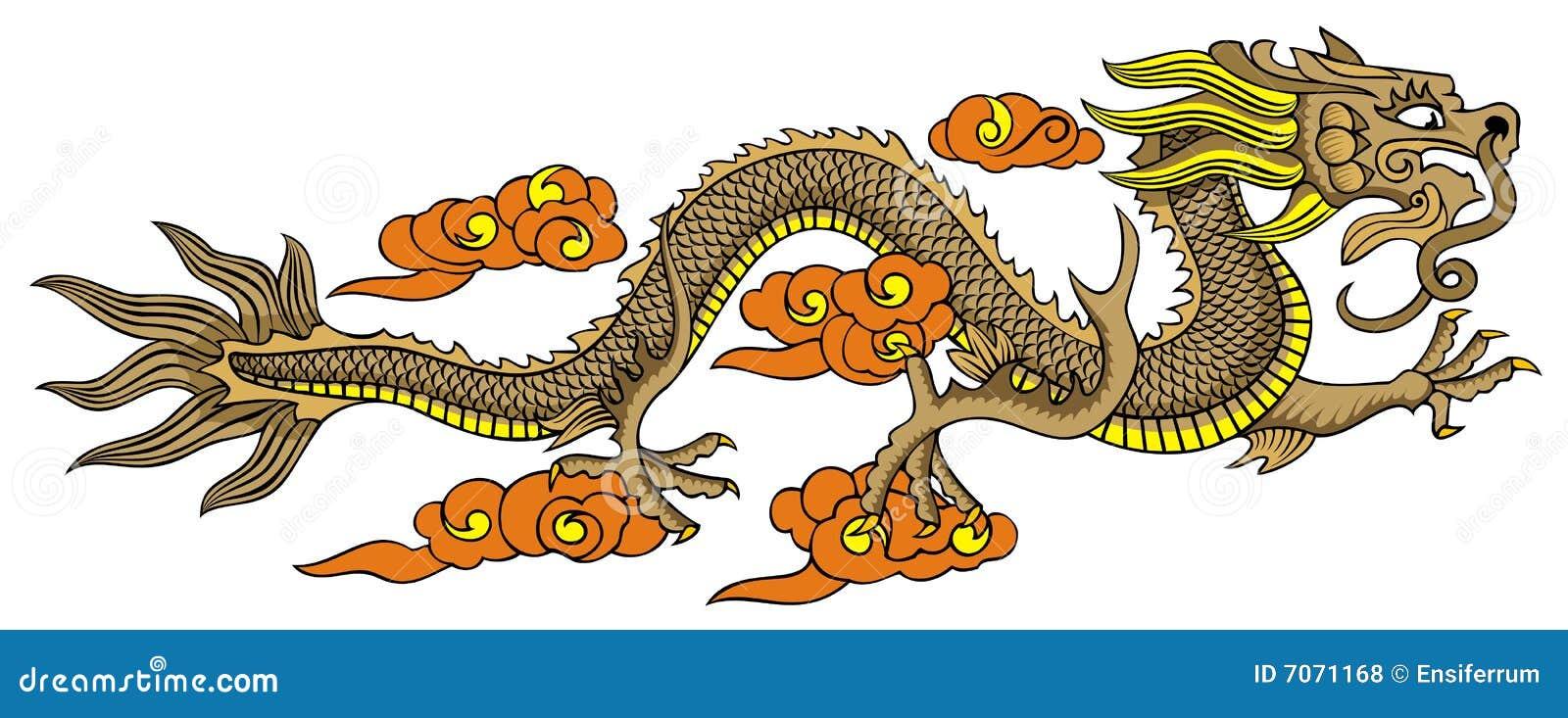 Smoka chiński latanie