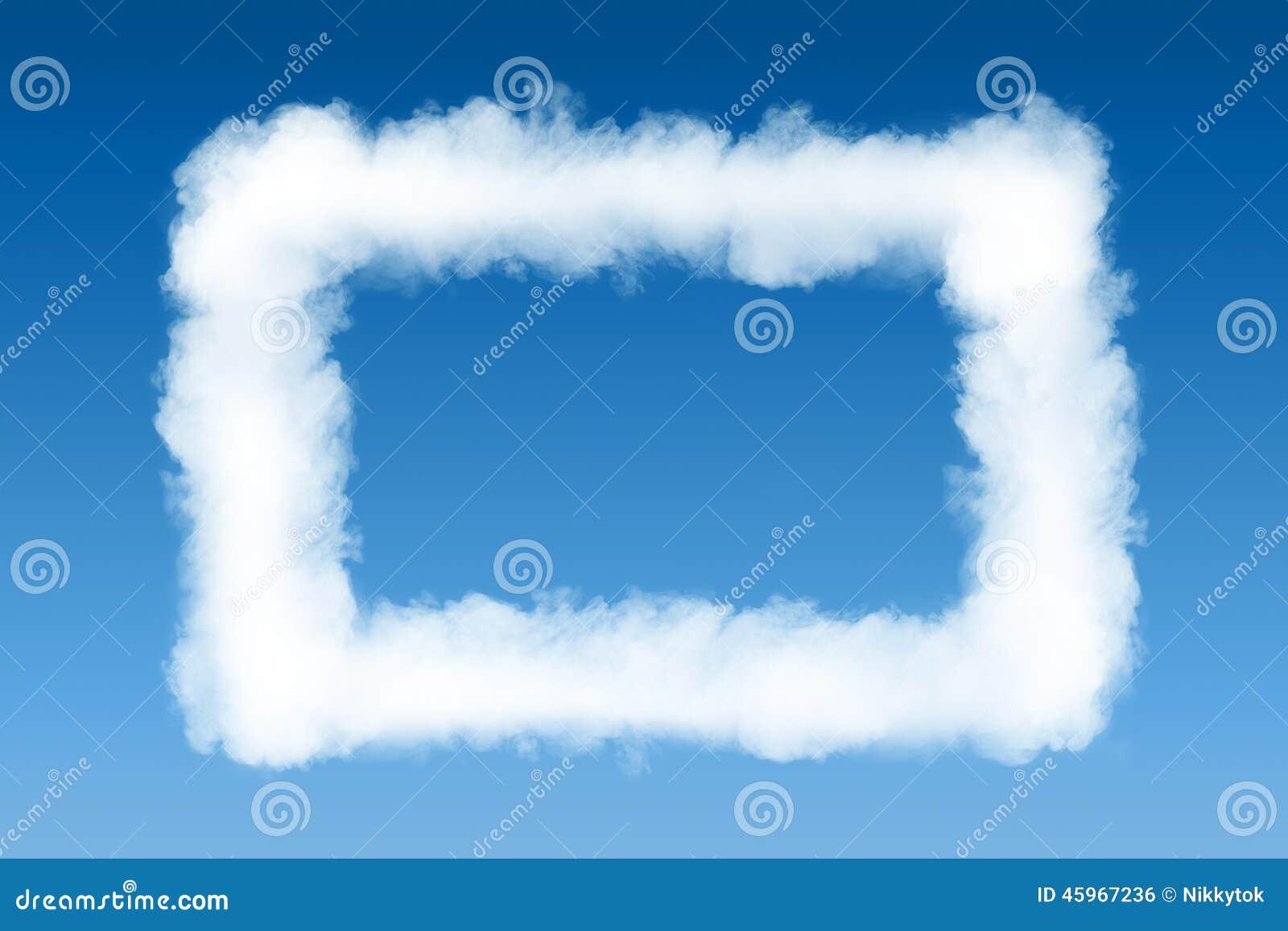 Smoke cloud photo frame stock photo. Image of mask, environment ...