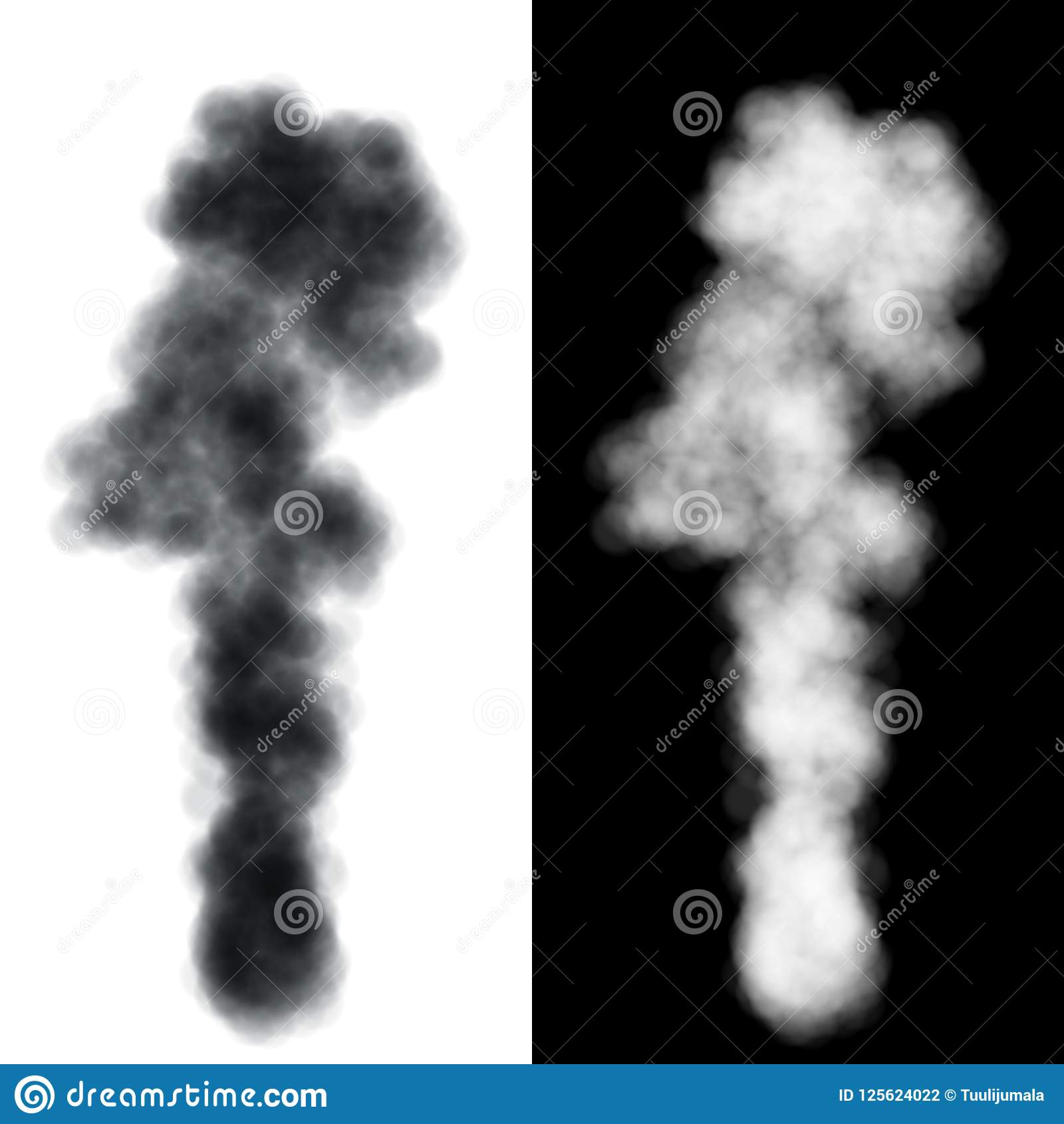 smoke and steam vector template stock vector illustration of
