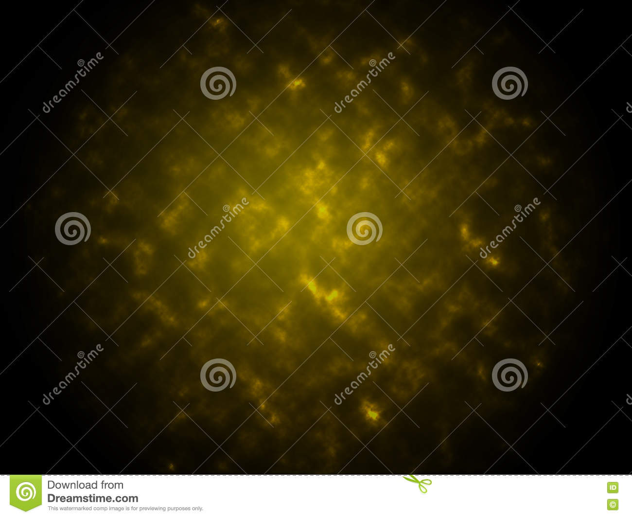 Smoke texture abstract yellow background