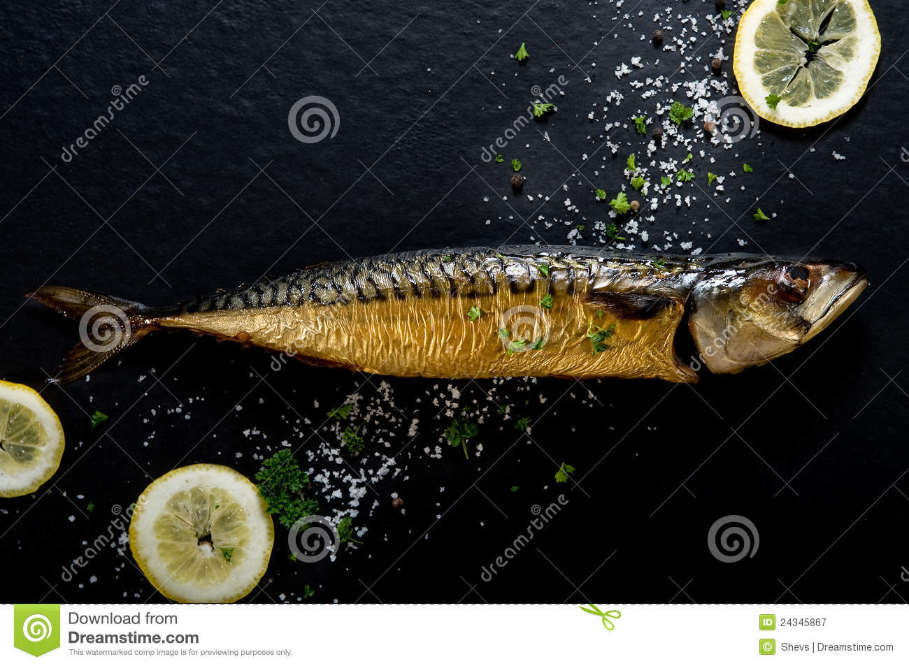 Smoked fish (mackerel)