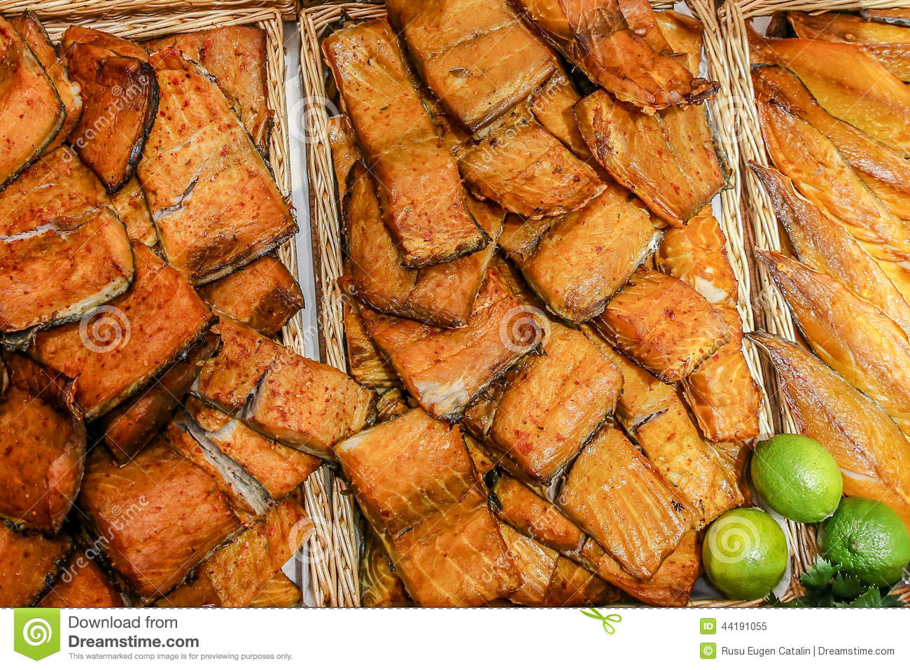 smoked fish stock photo image 44191055