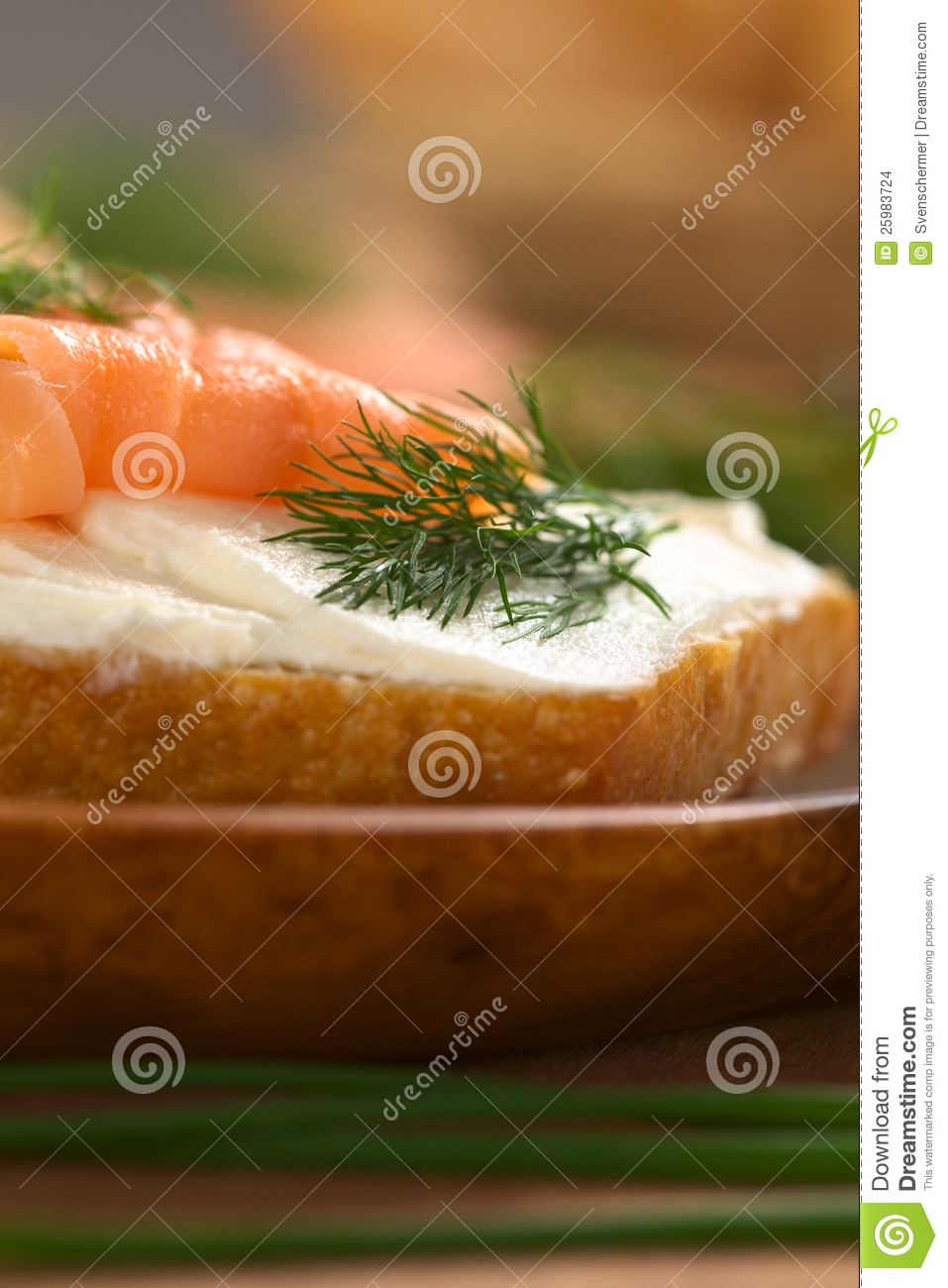 Smoked salmon and cream cheese canape stock images image for Smoked salmon cream cheese canape