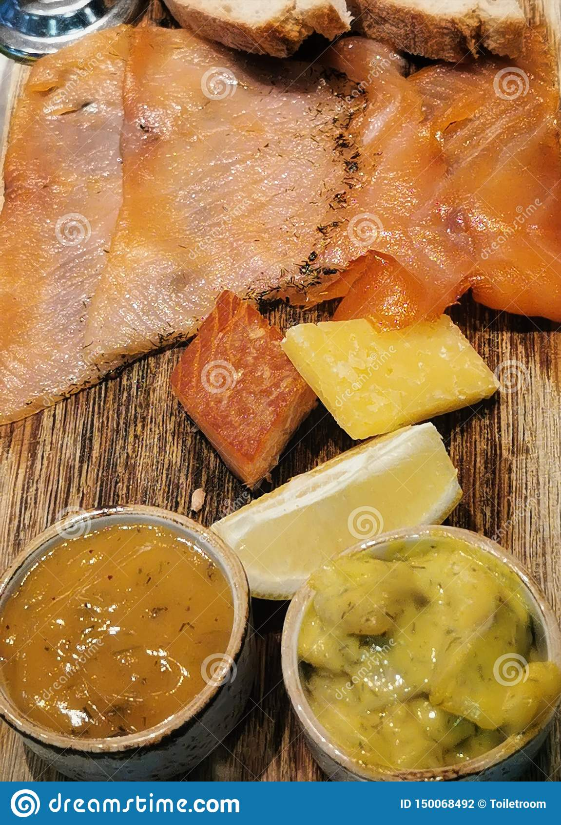 Smoked salmon a taste of norway