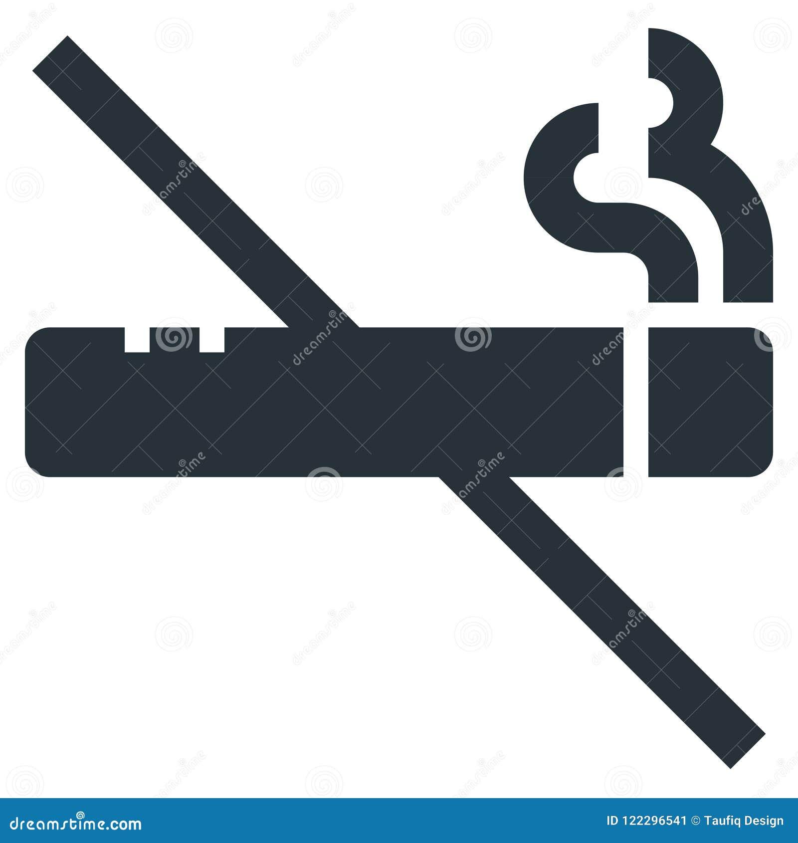 Smoking Ban Vector Line Icon 32x32 Pixel Perfect  Editable 2
