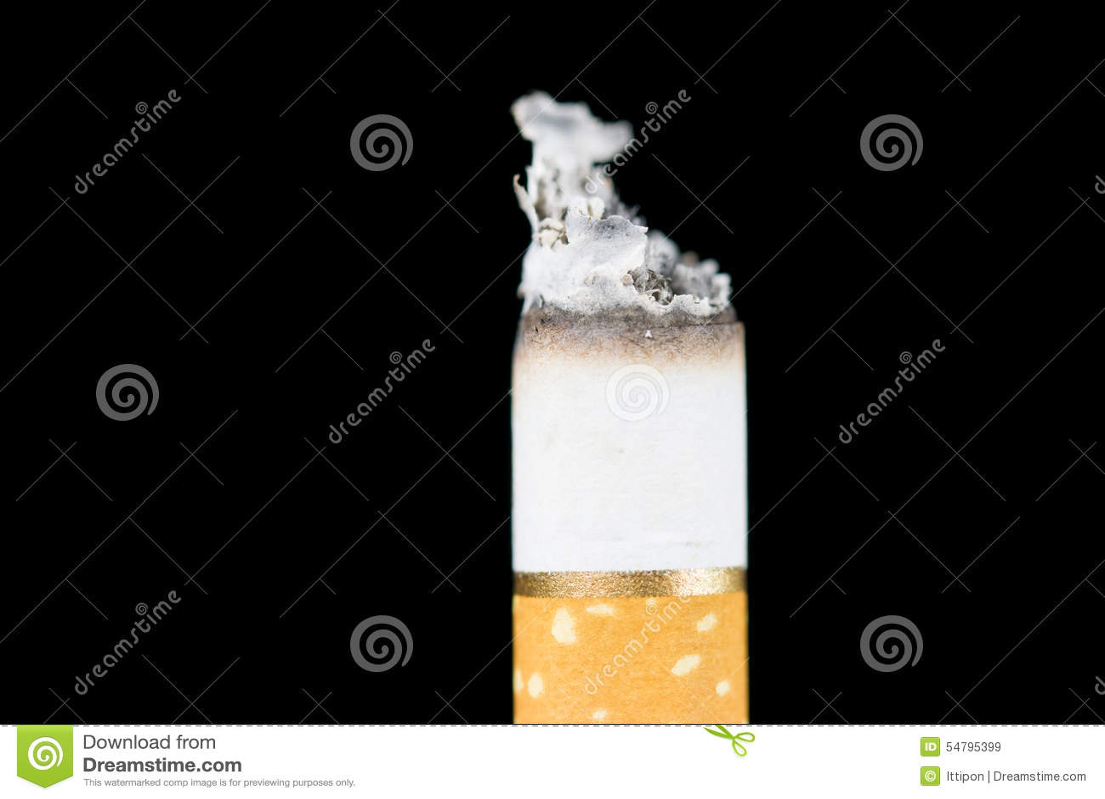 Smoking Cigarette Stock Photo - Image: 54795399