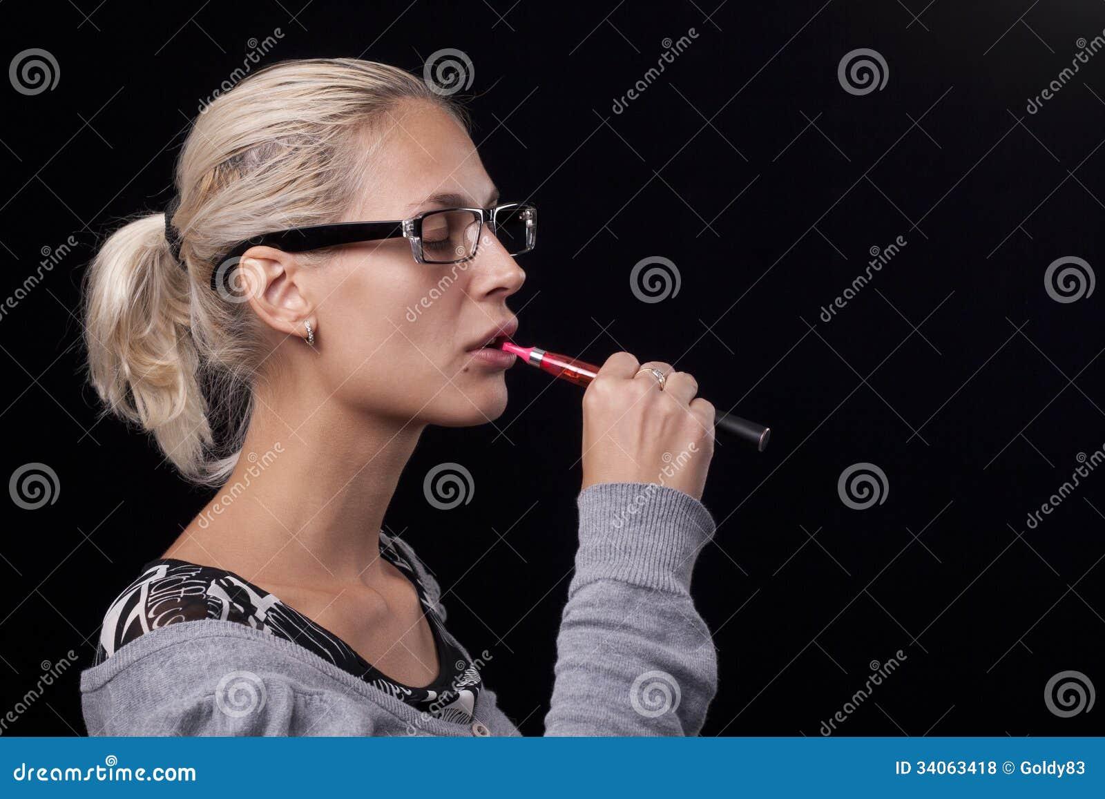 Smoking Electric Cigarettes Royalty Free Stock Photos ...