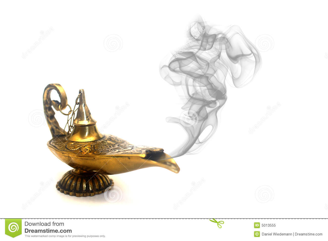 Smoking Genie Lamp stock image. Image of aladin, arabian - 5013555 for Magic Lamp With Smoke  45ifm