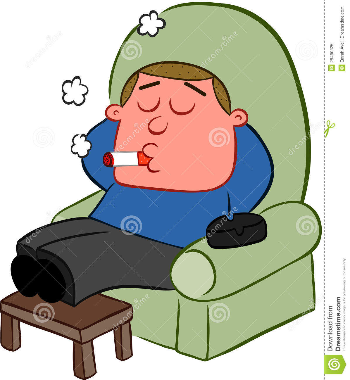 smoking man cartoon stock vector image of chair  agressive 28490325 relax clip art pool relax clip art pool