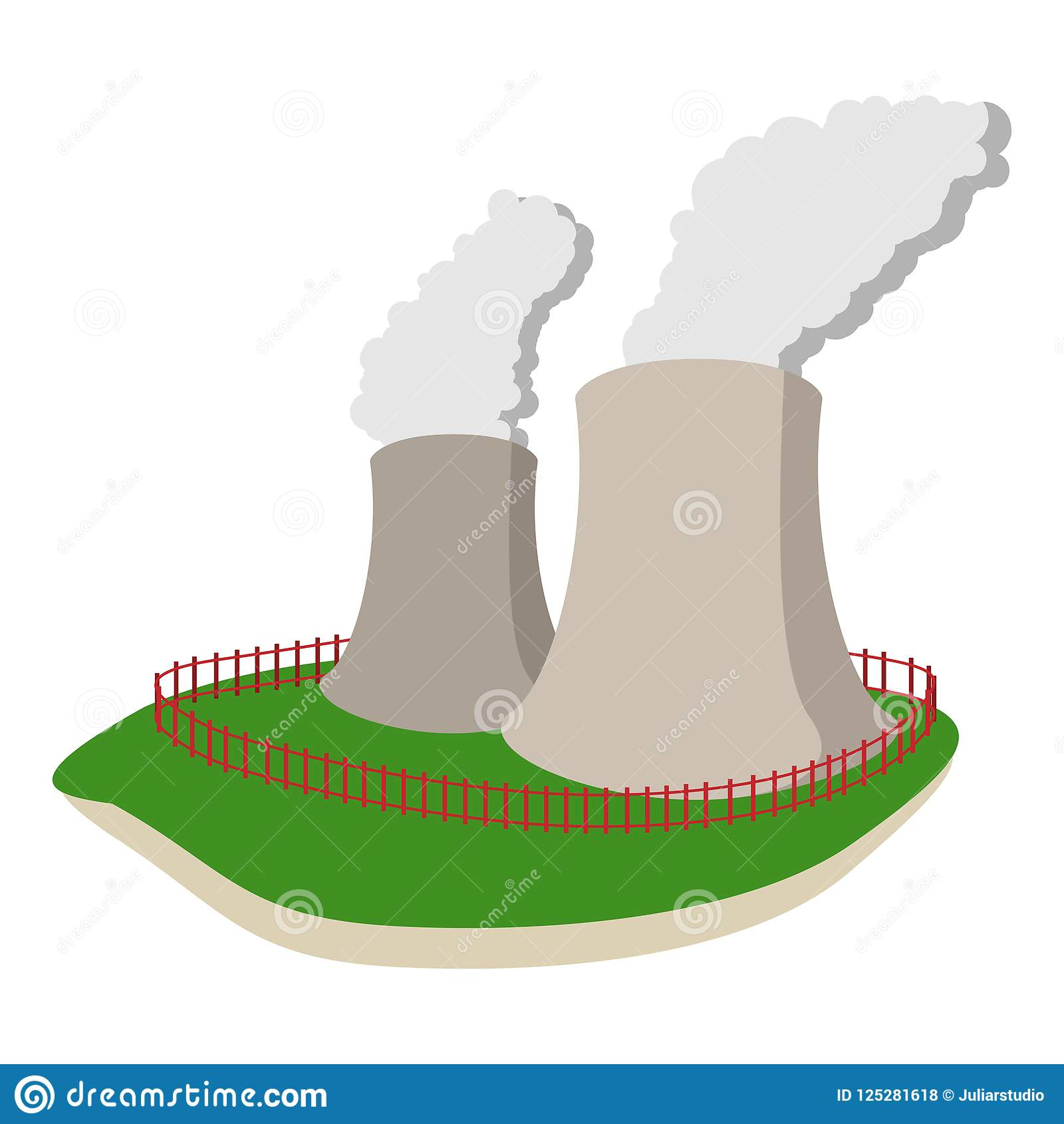 25+ Animated Power Plant Clipart