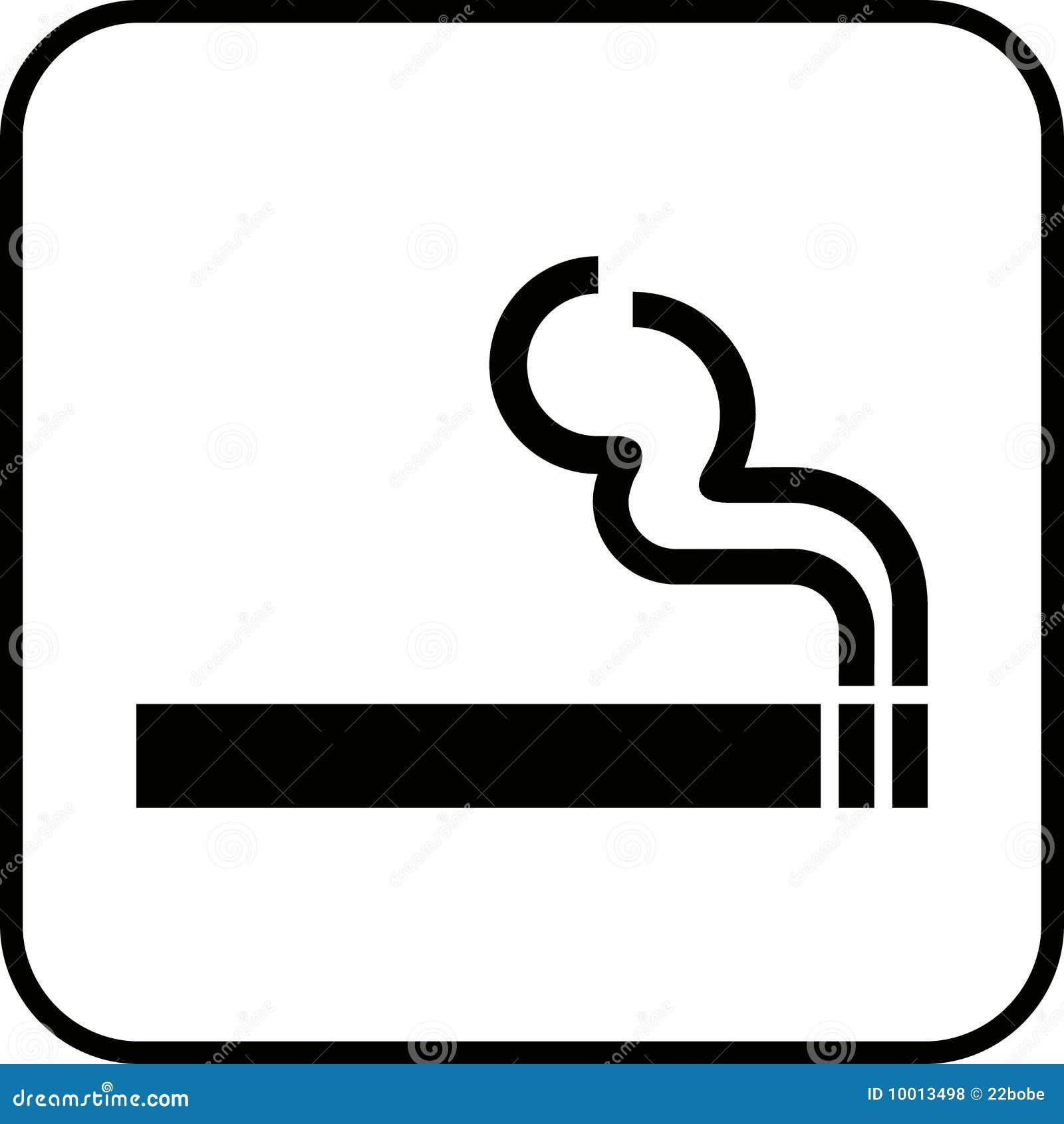 Smoking Sign 1 (+ Vector) Royalty Free Stock Photos - Image: 10013498