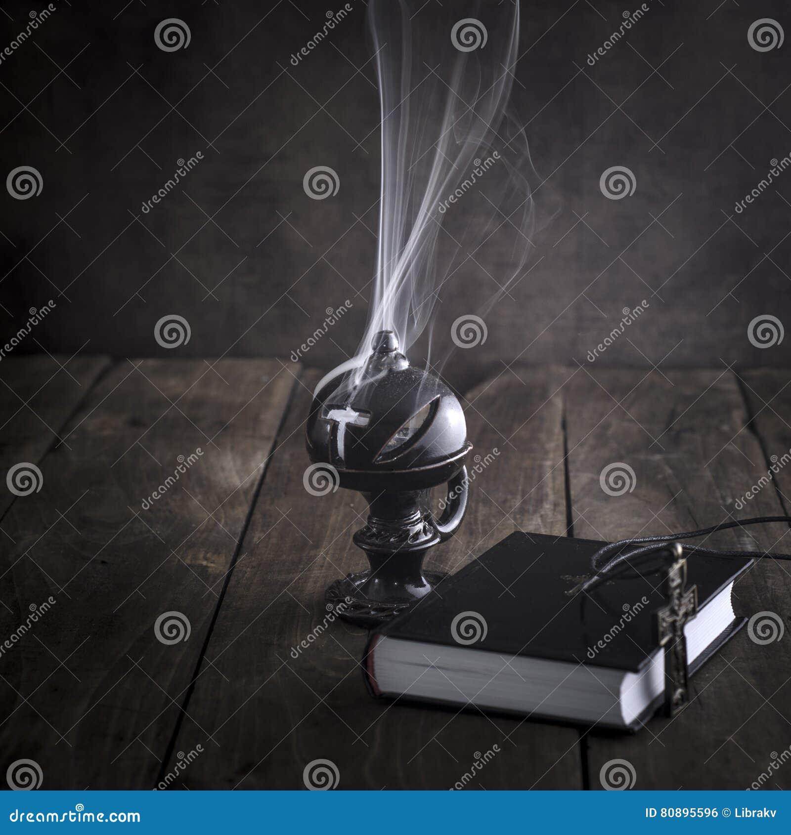 Smoking Thurible Burning Frankincense Stock Photo Image Of Christianity Religion 80895596