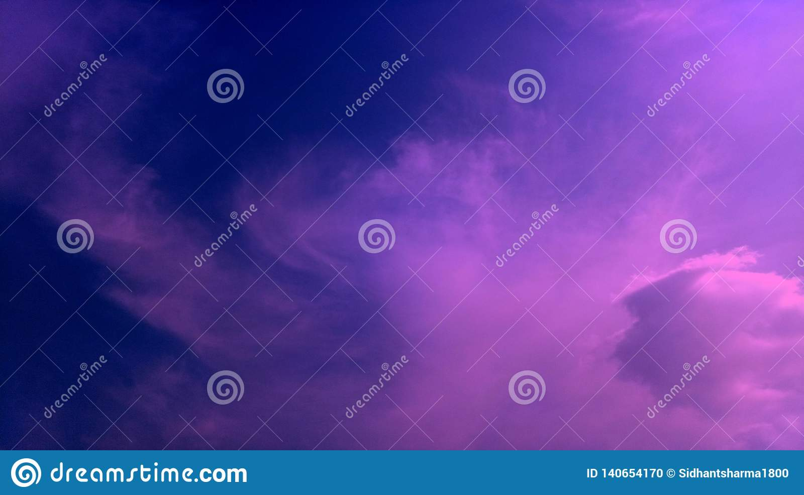 Smoky clouds pink blue color mixture effects texture background wallpaper.