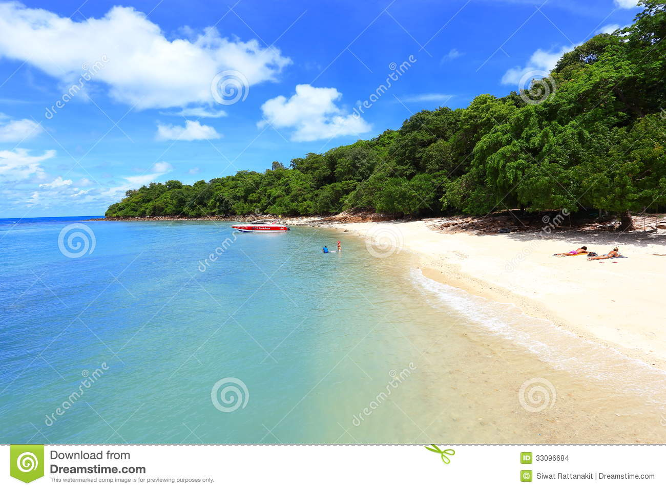 Smooth Beach Stock Images - Image: 33096684