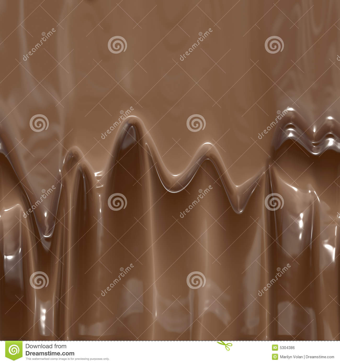 Rich, very smoo... Dripping Chocolate Background