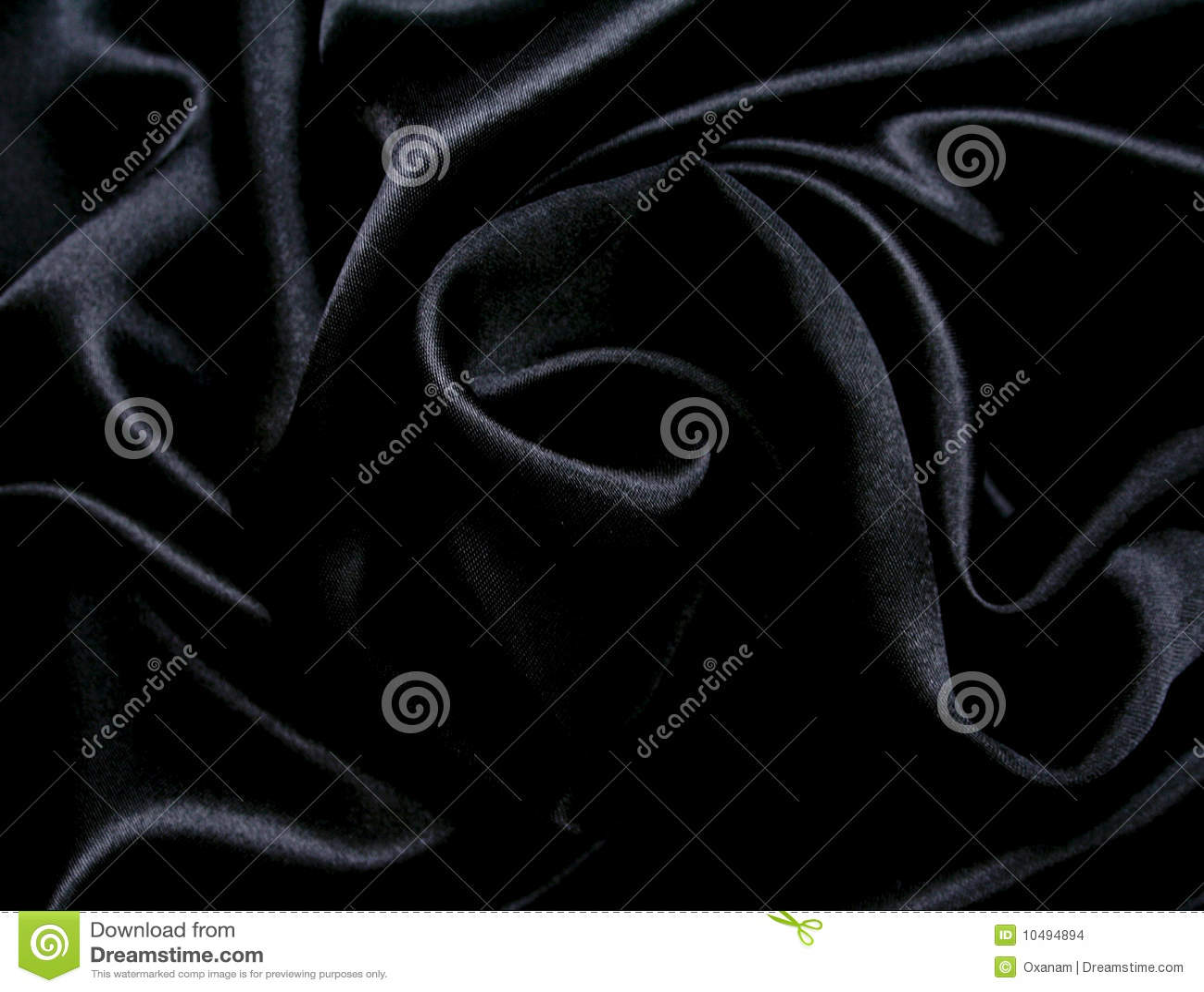 smooth elegant black silk - photo #5