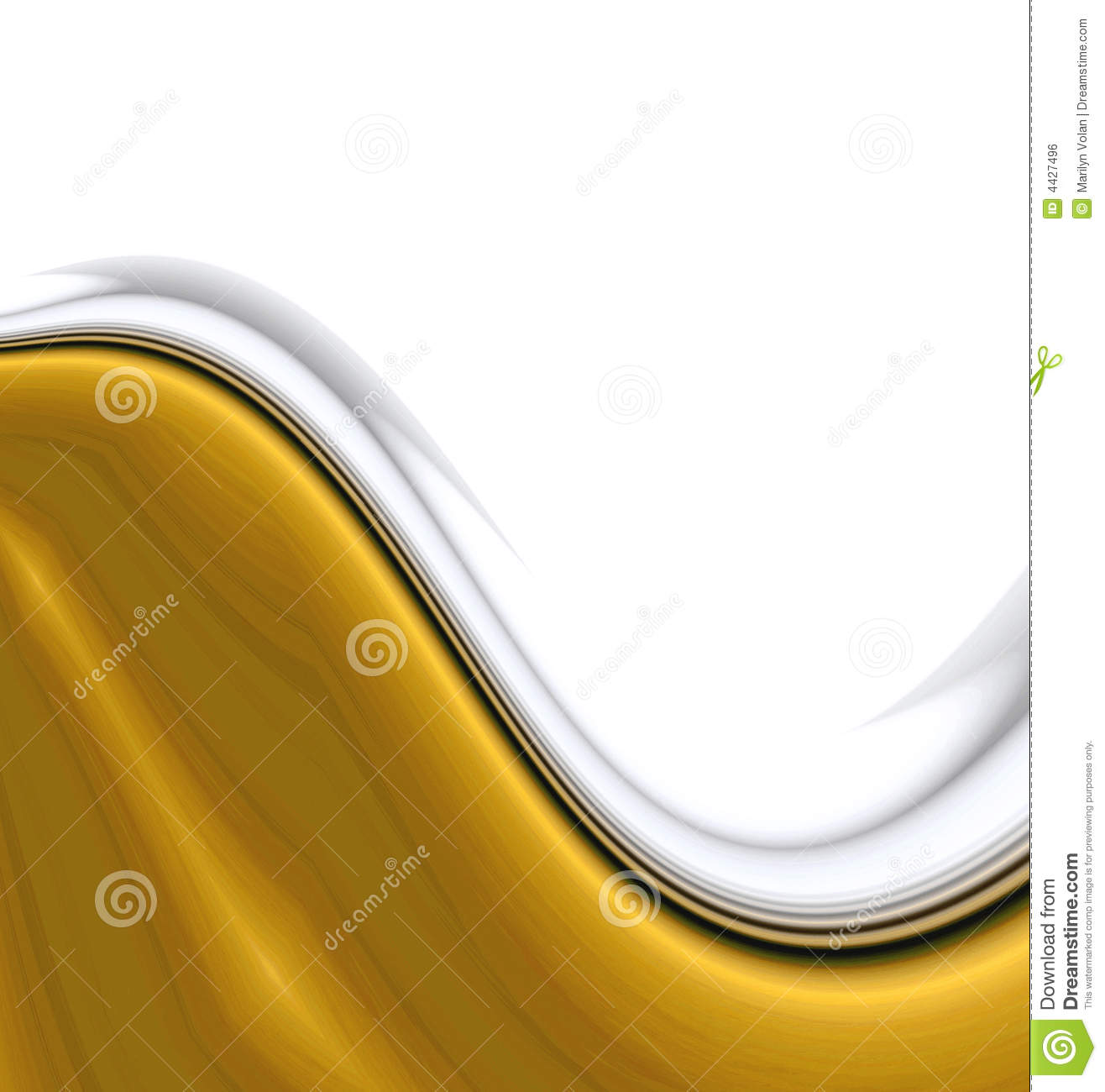 Smooth Gold Waves