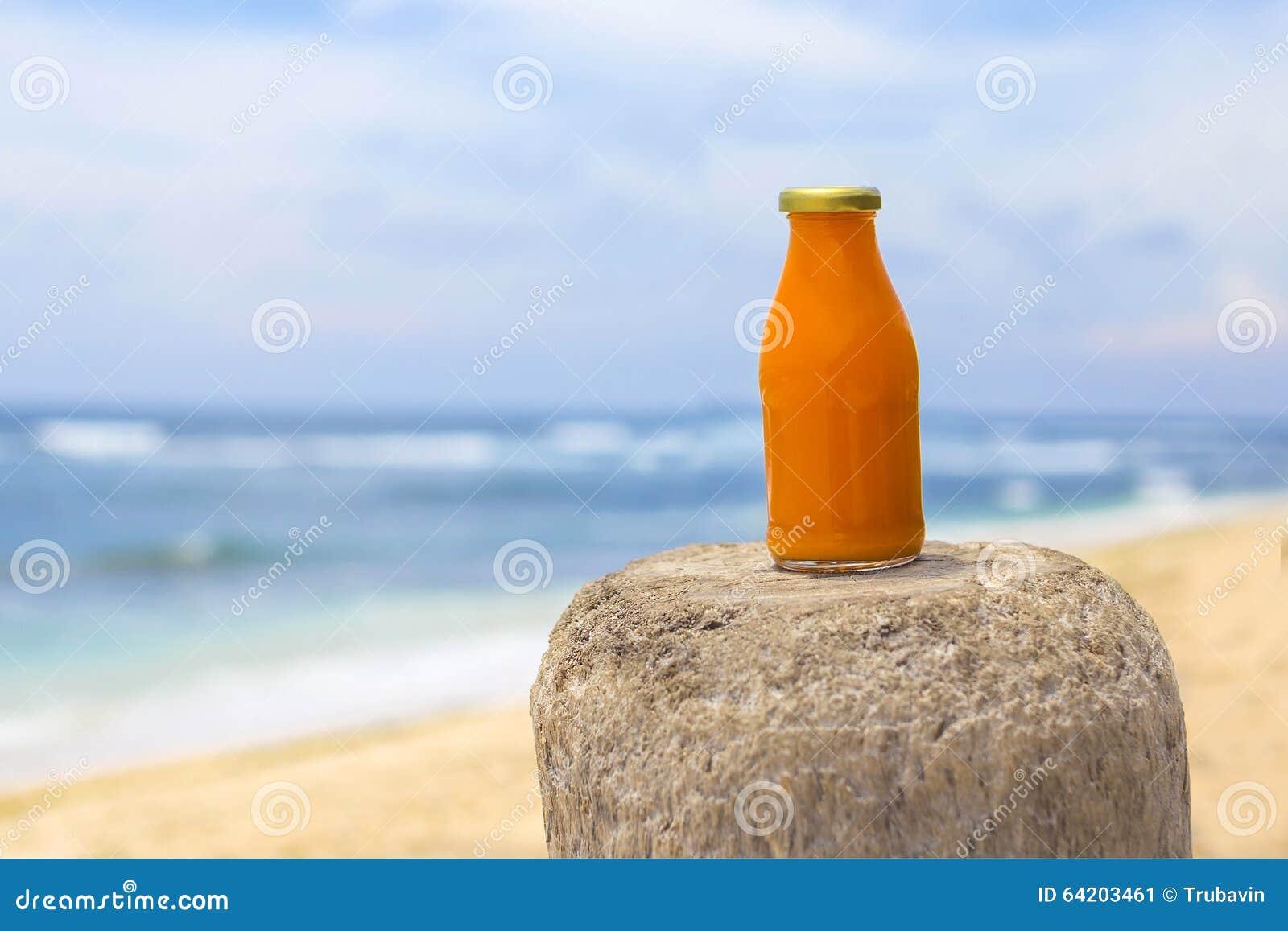 Smoothie anaranjado sano