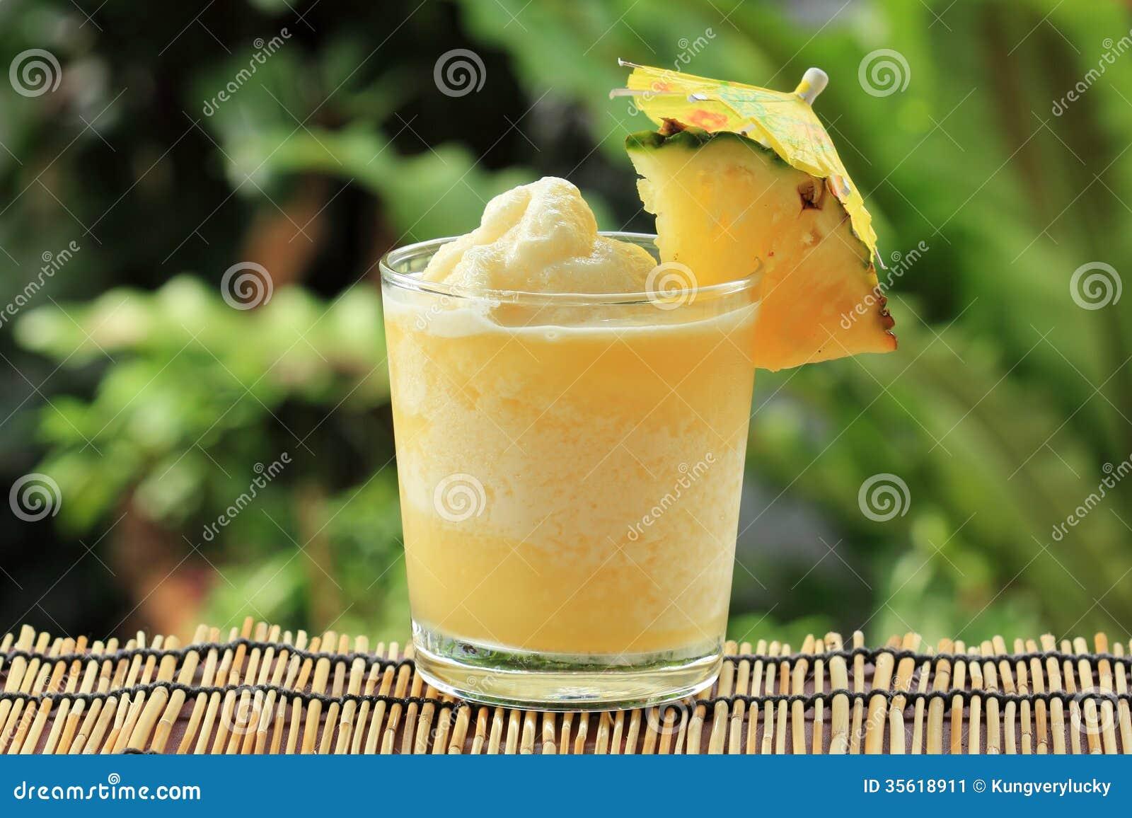 Smoothie d ananas