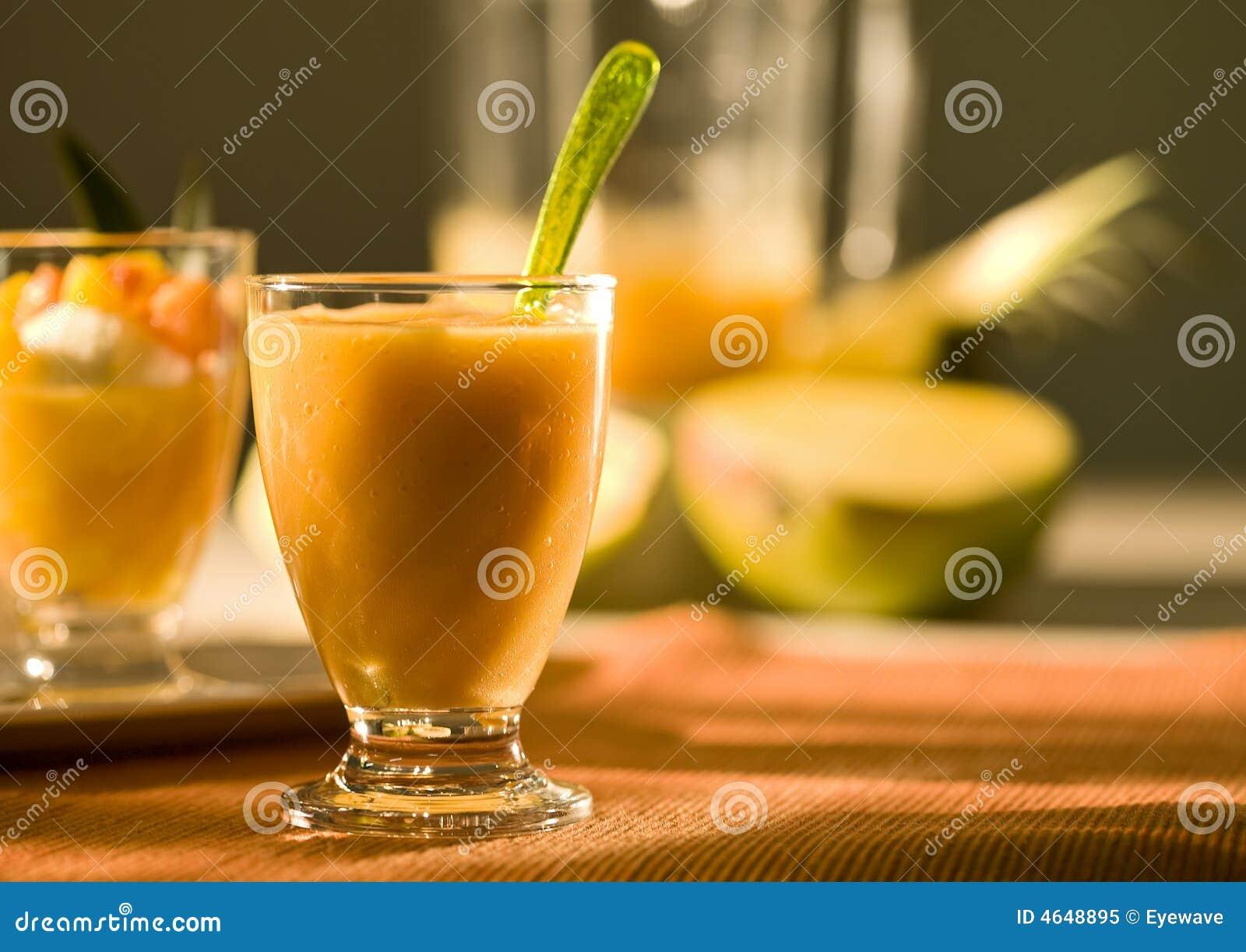 Smoothie da fruta tropical