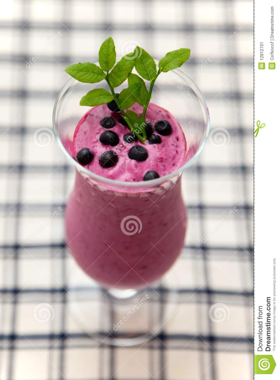 Smoothie da uva-do-monte
