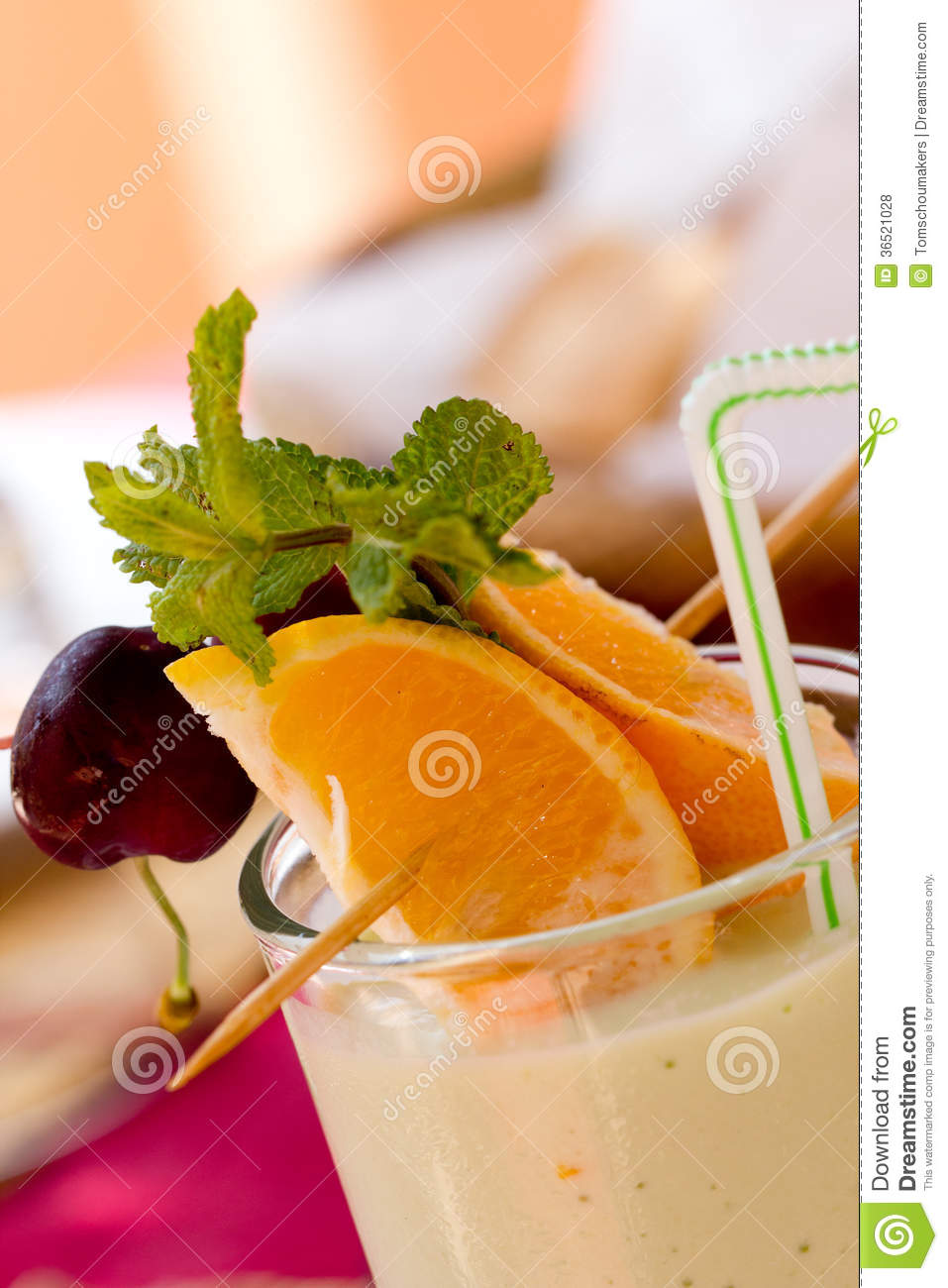 Smoothie de fruit