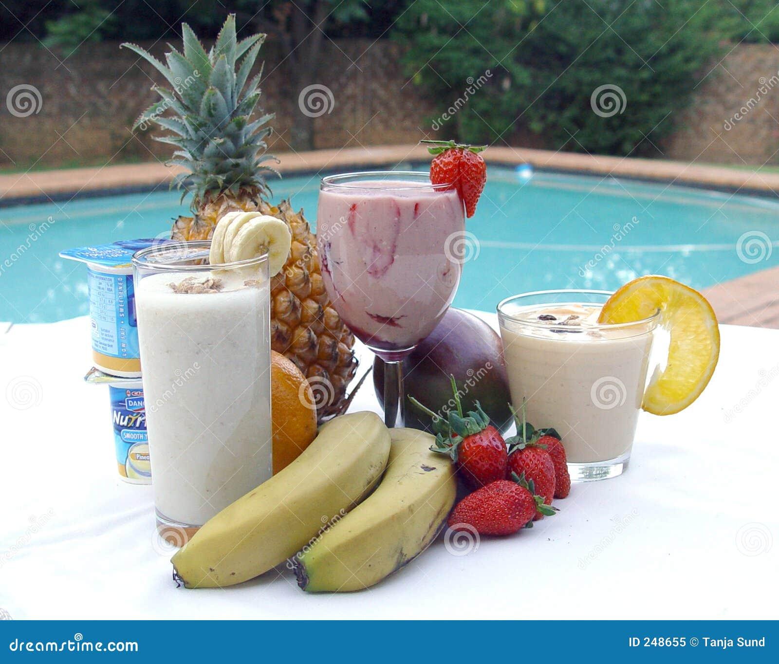 Smoothie de la fruta