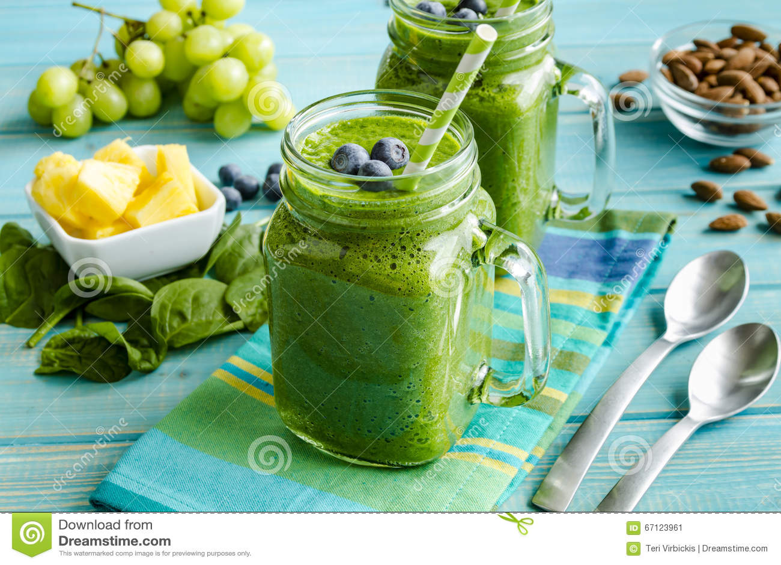 smoothie verde detoxifiant