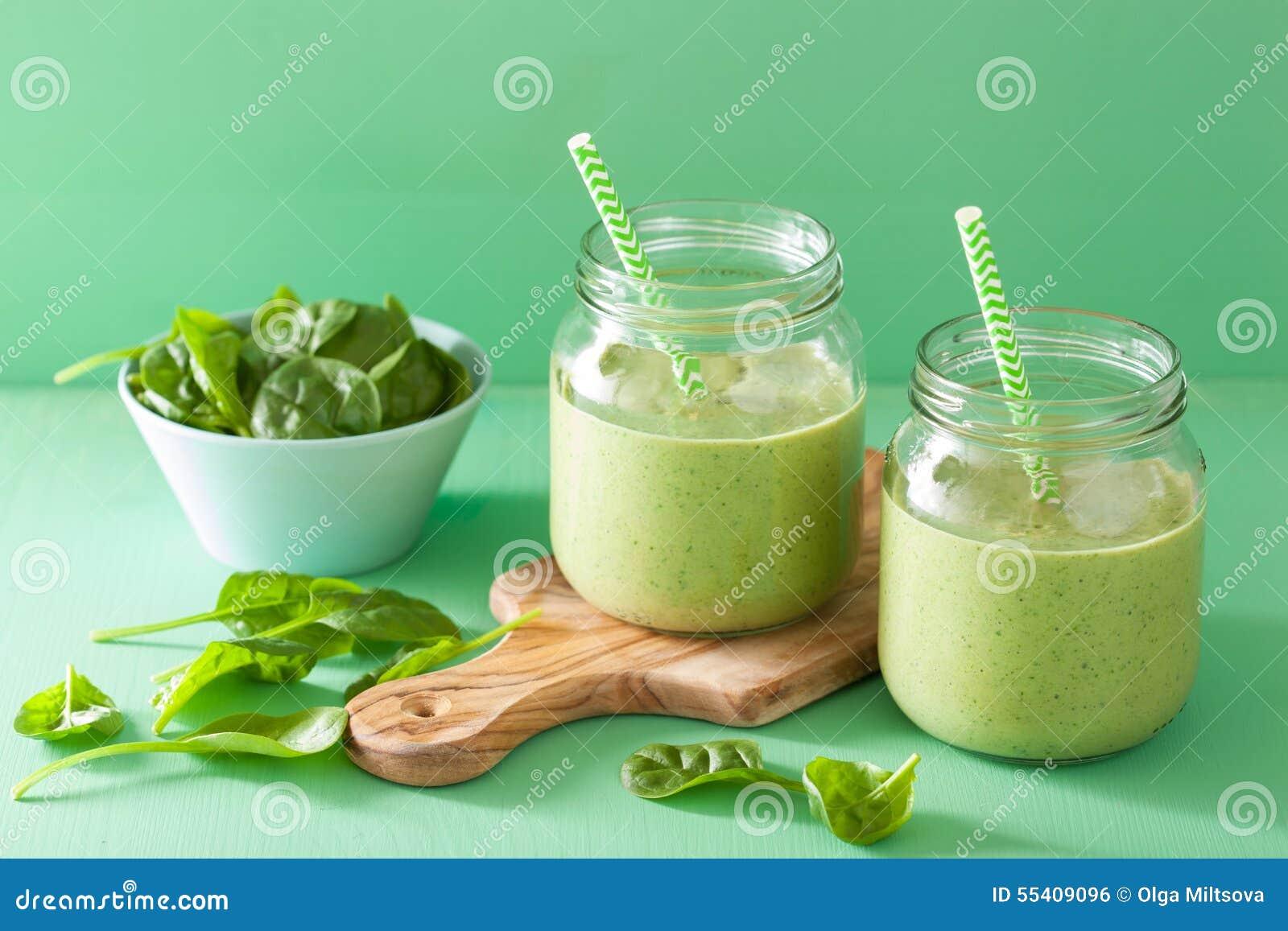 smoothie vert epinard mangue)