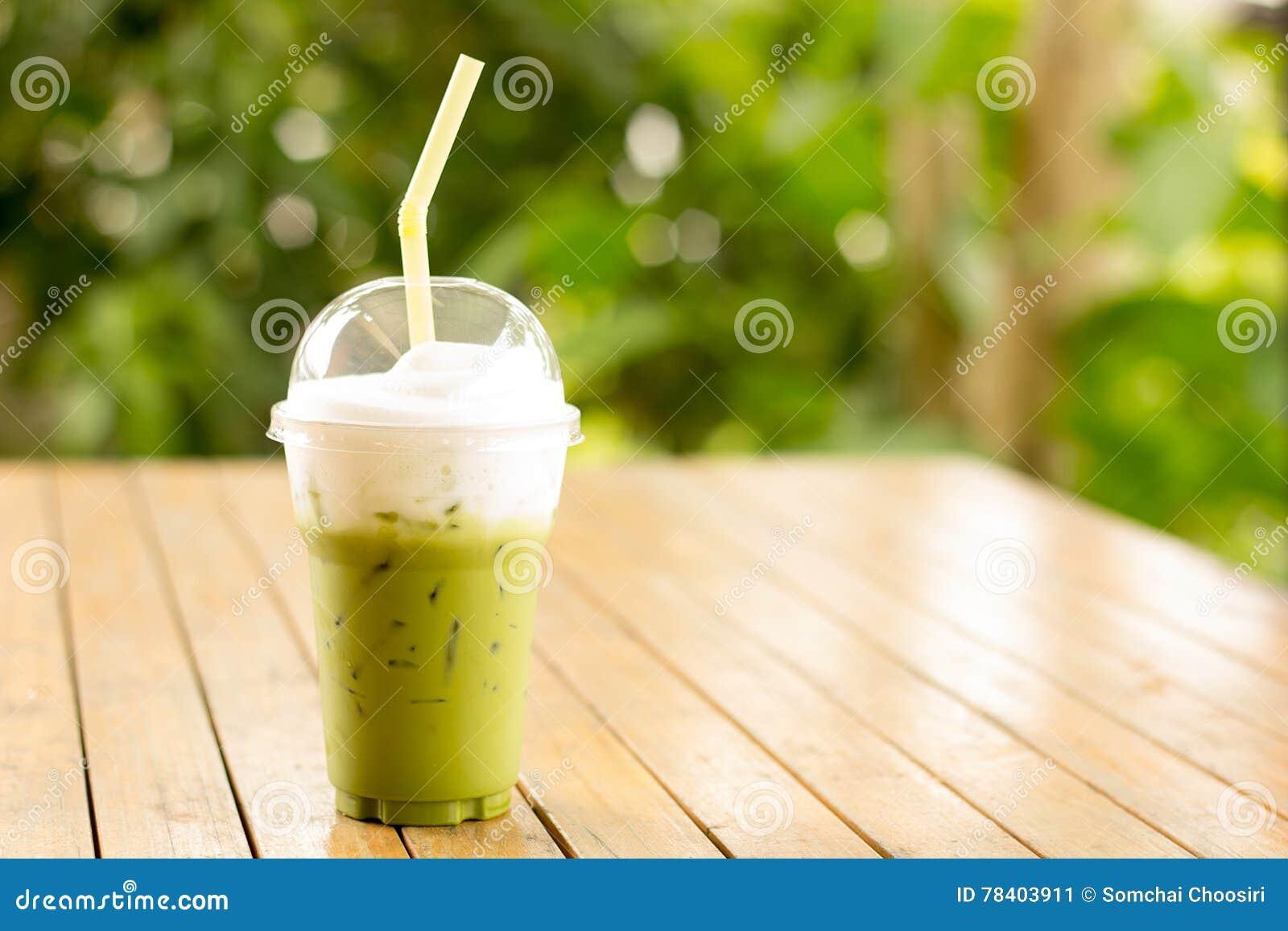 Smoothie zielona herbata