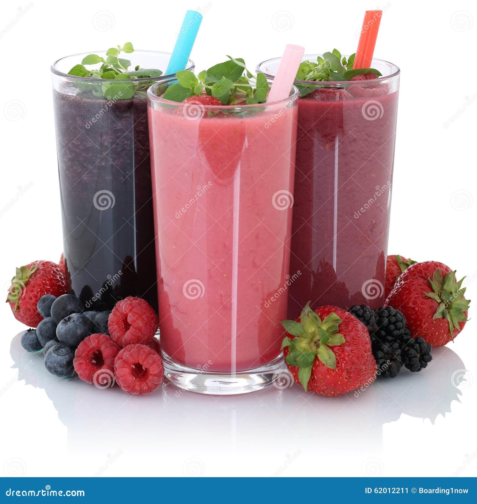 Smoothiefruktfruktsaft med isolerade nya frukter