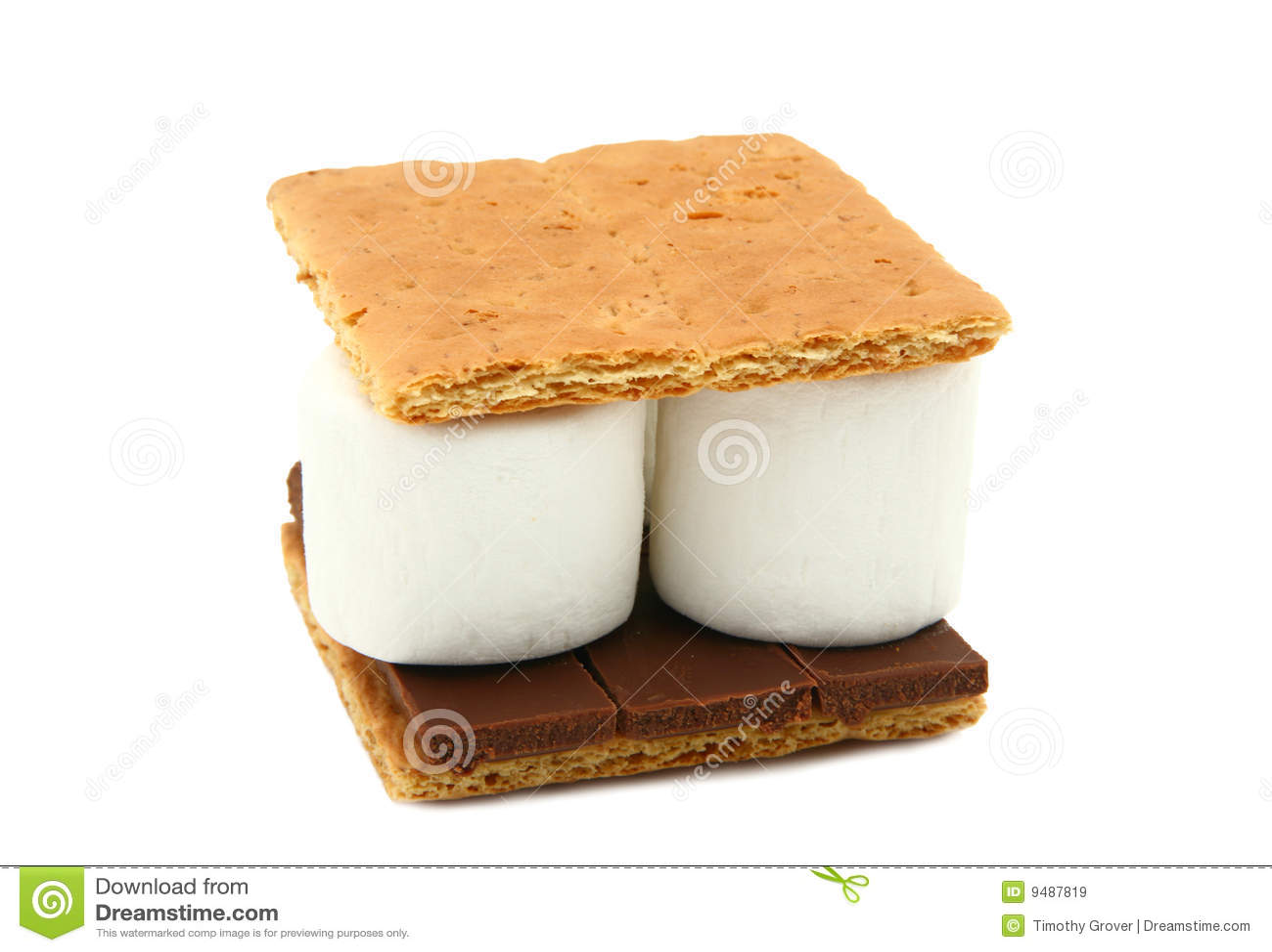 Marshmallow Graham Cracker Cake