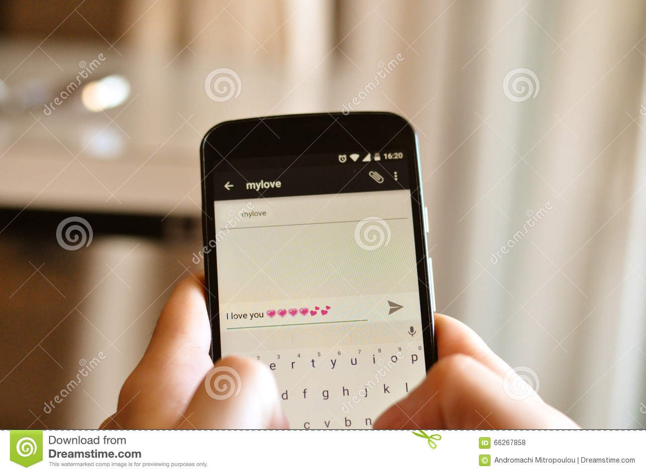 mobile love sms