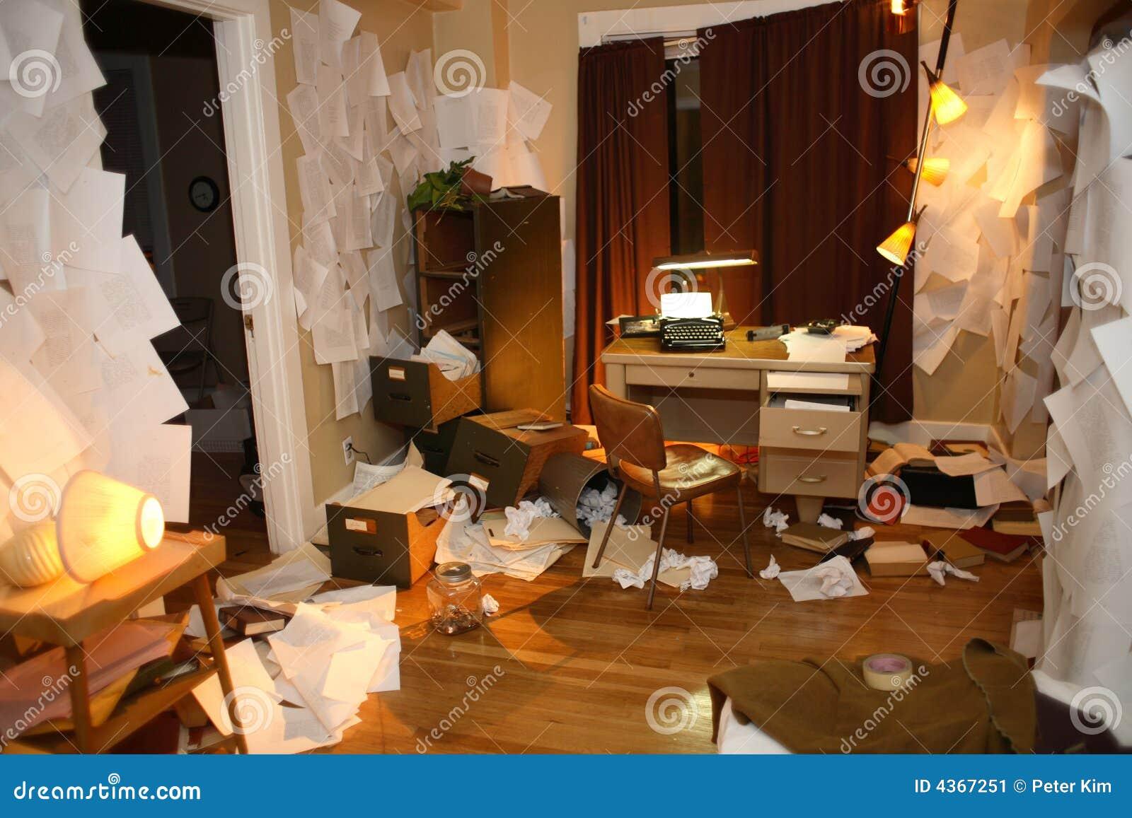 Smutsig lägenhet