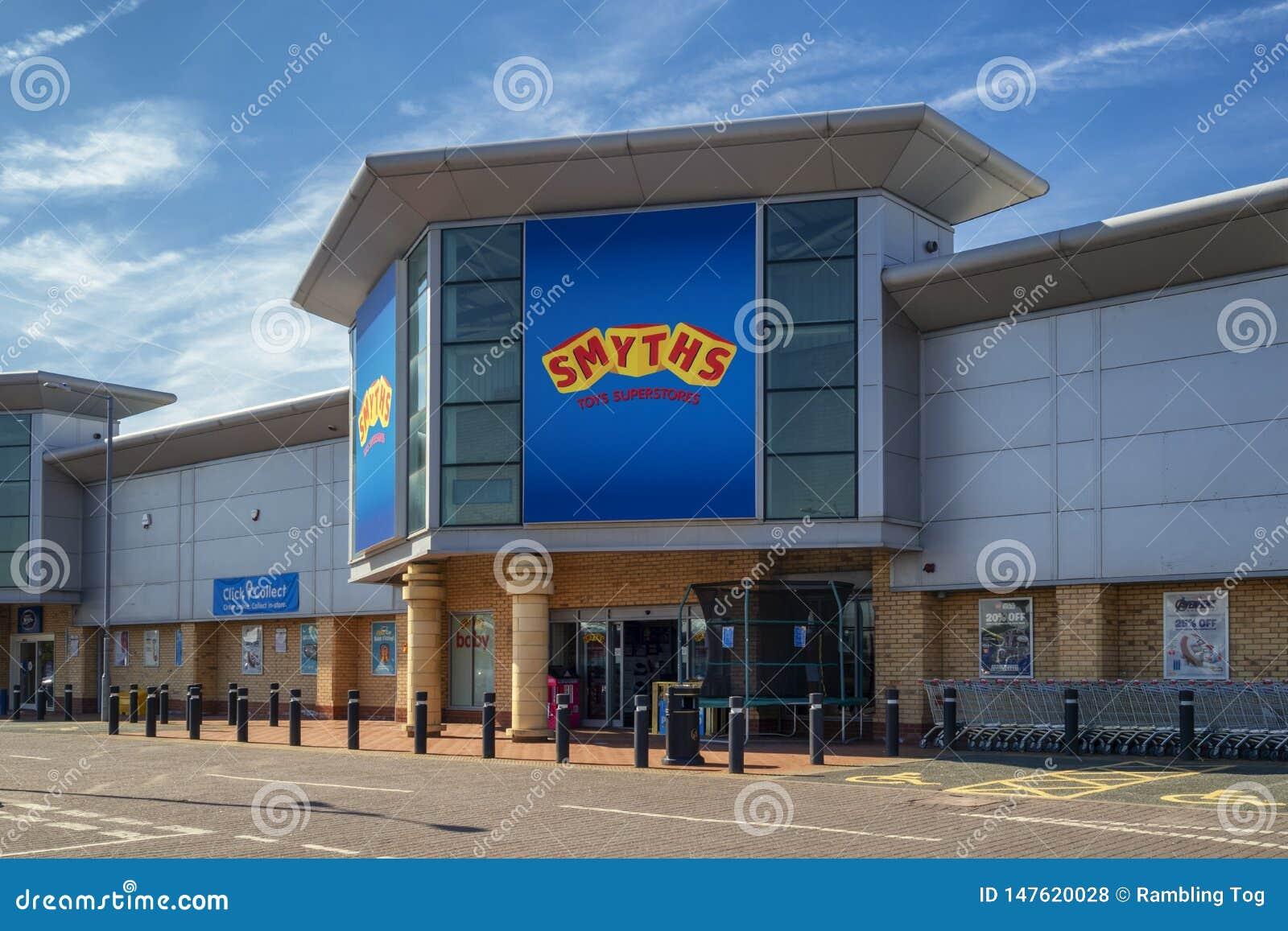 Smyths Toy Shop em St Helens merseyside Reino Unido