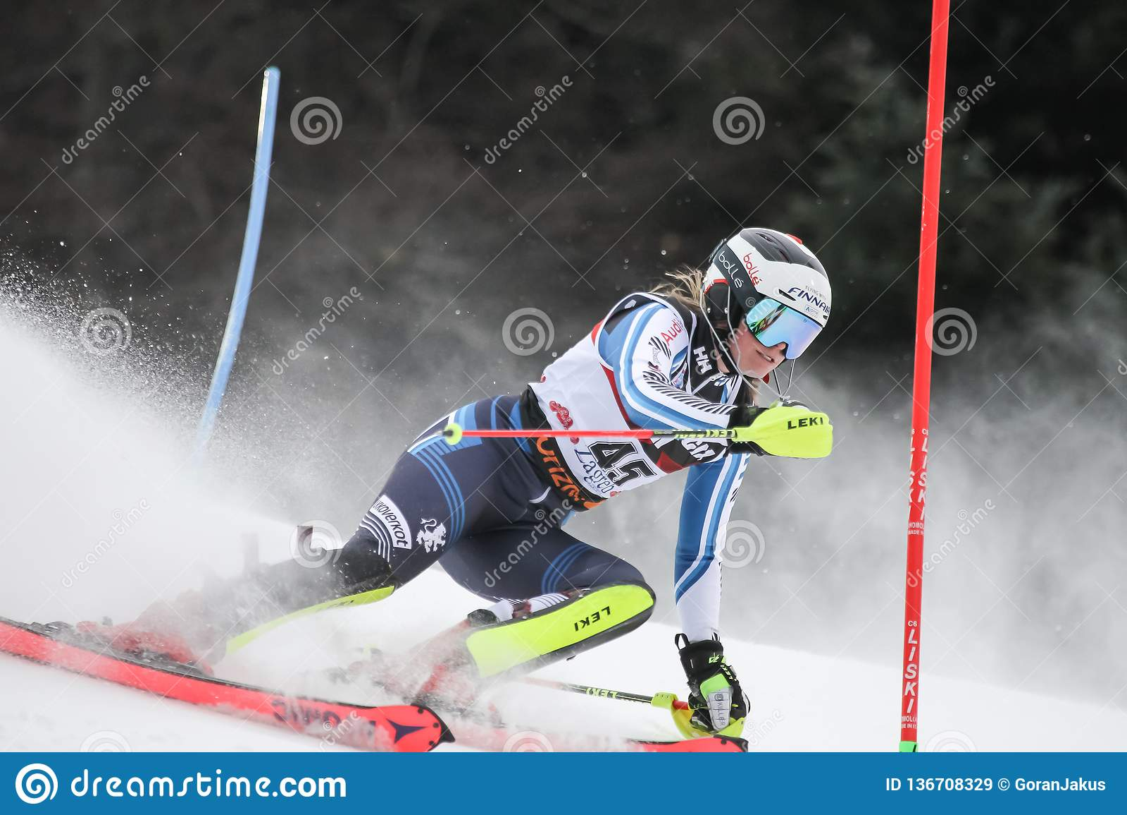 Snödrottningtrofé 2019 - damslalom