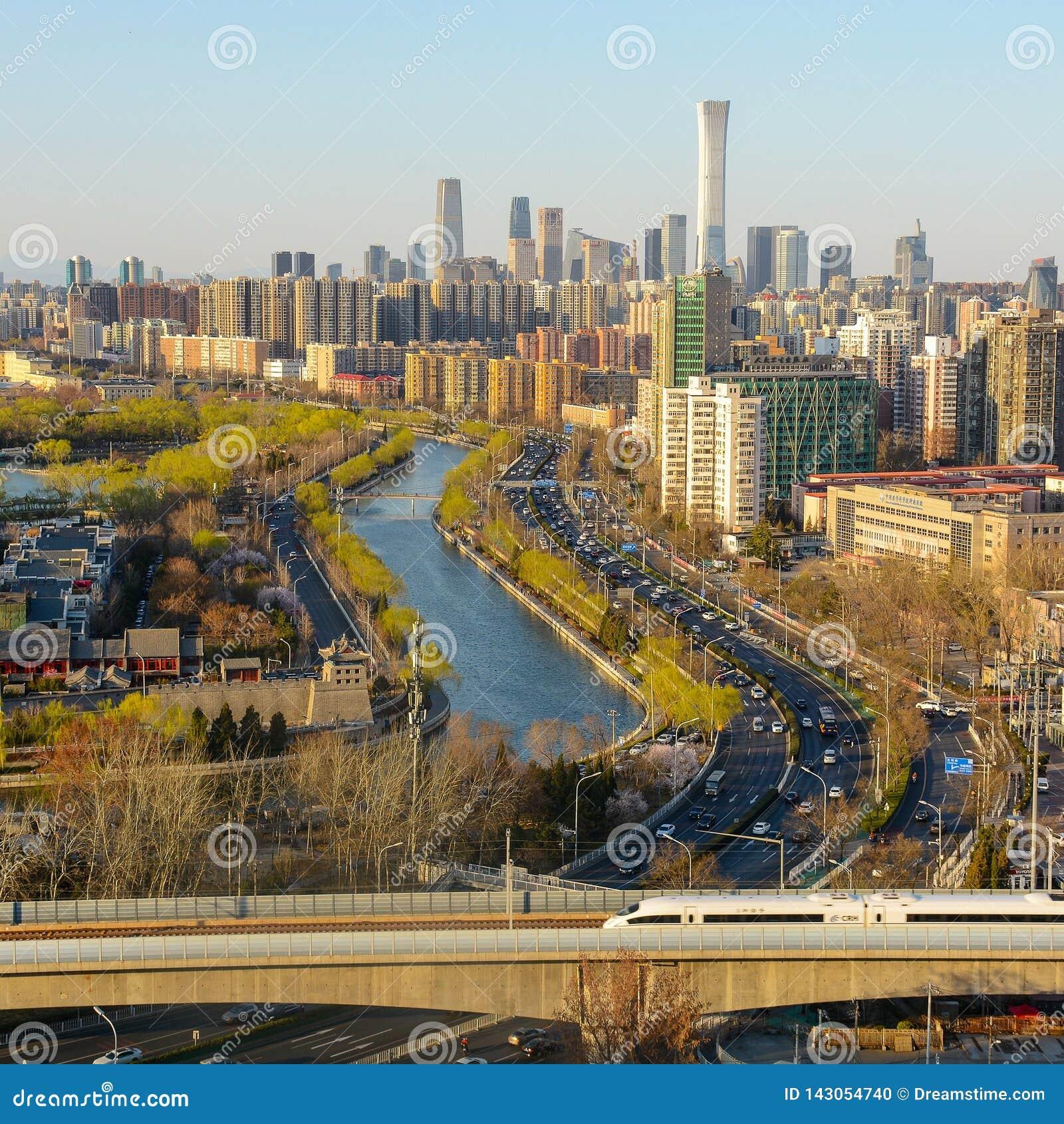 Snabb stång för Pekingstadsbyggnader
