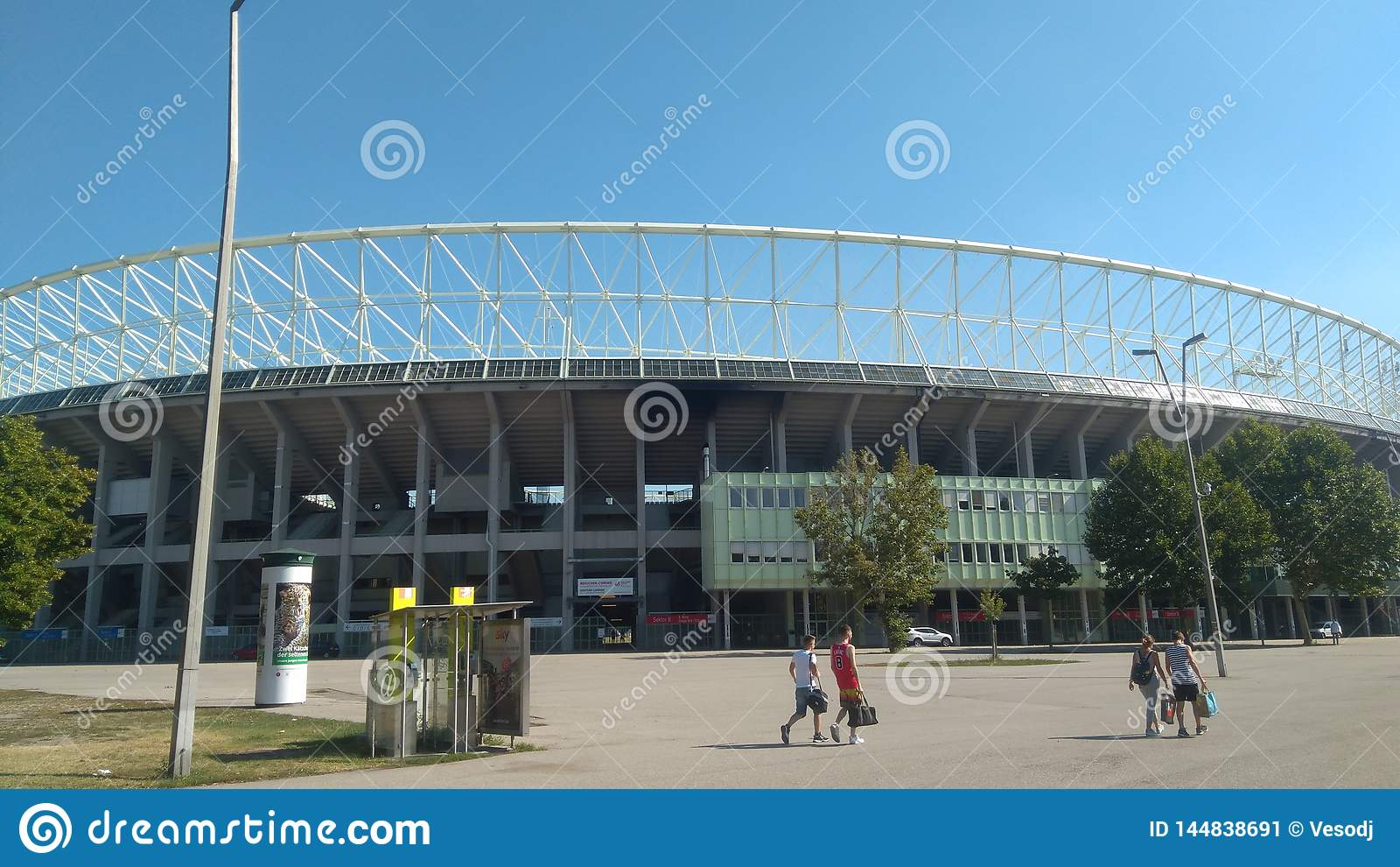 Snabb Wien ☺ för stadion FC