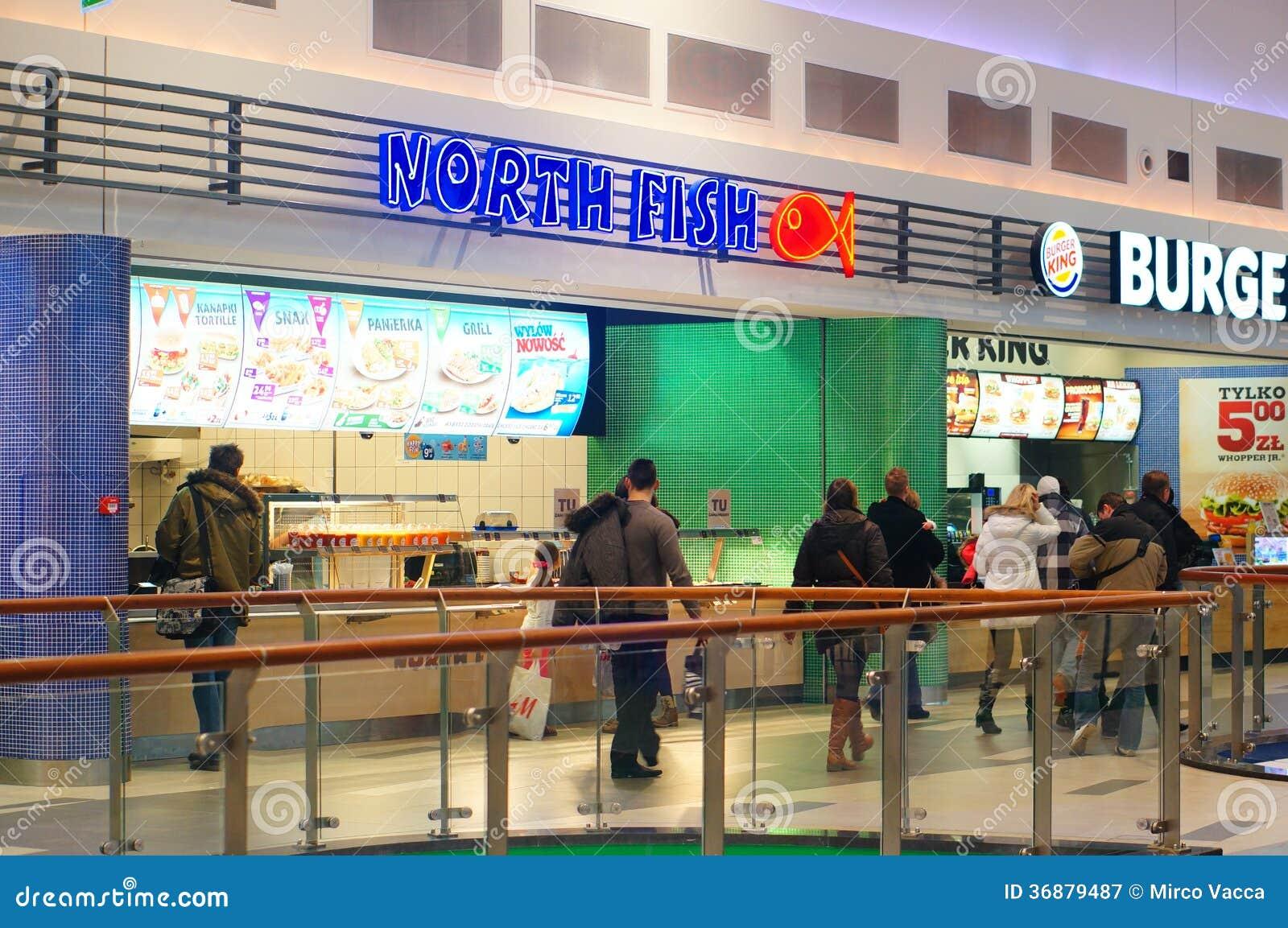 Download Snack Bar Del Nord Del Pesce Fotografia Editoriale - Immagine di north, dell: 36879487