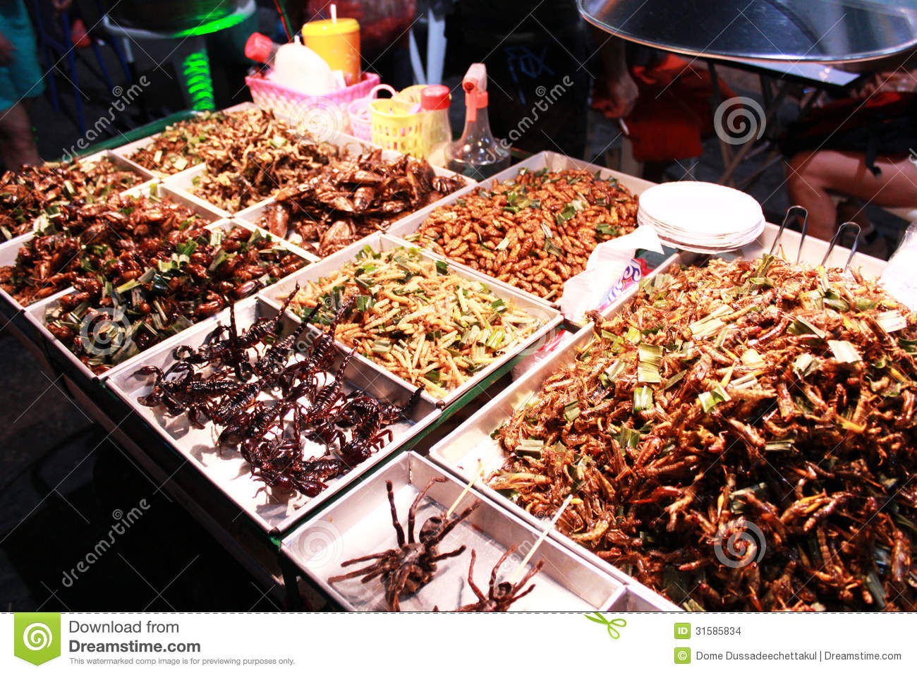 snack shop on khao san road stock images   image 31585834
