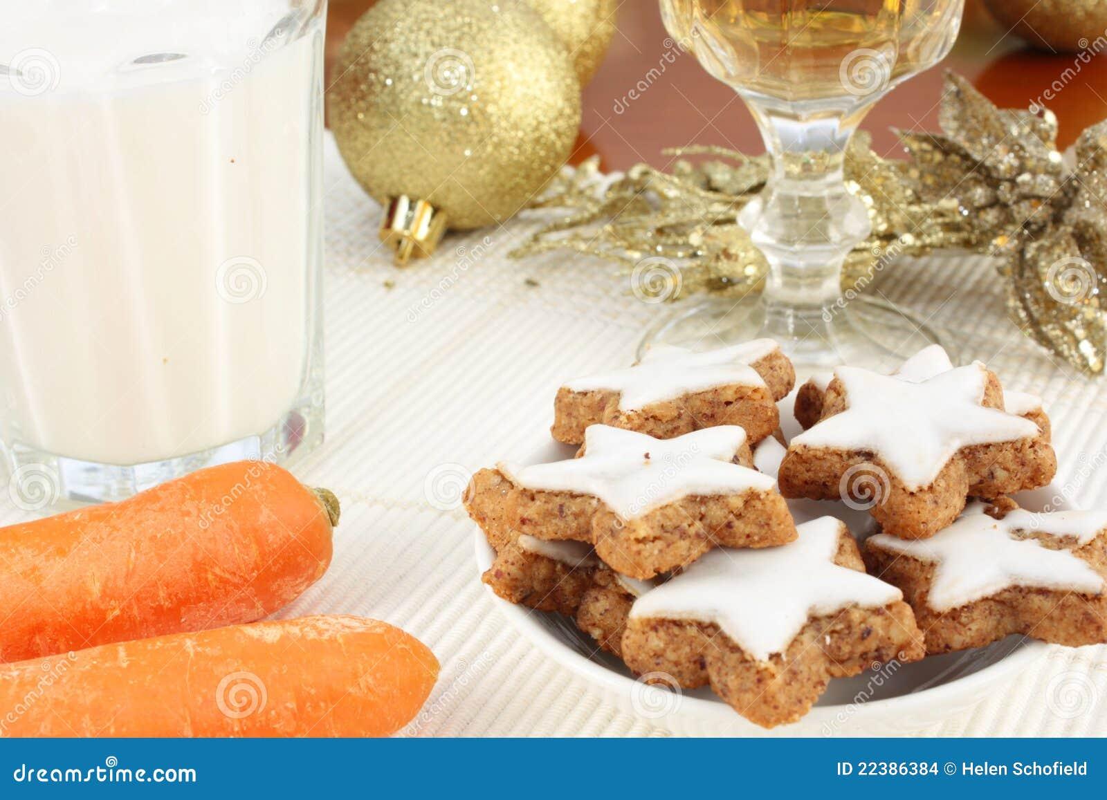 snacks for santa claus and rudolf - Christmas Eve Snacks