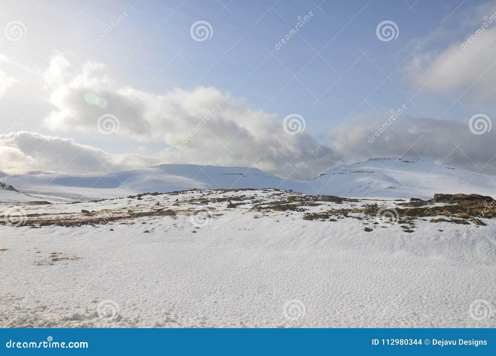 Snaefellsjokull Glacier on a Beautiful Summer Day