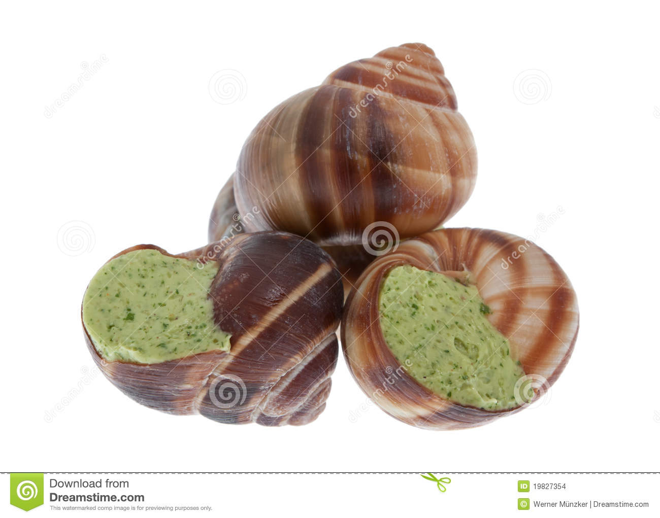 More similar stock images of ` Snails with herb butter `
